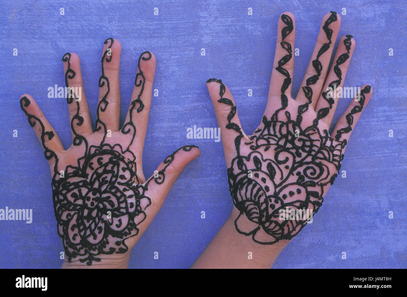Mehndi Hands With Mobile : India rajasthan woman detail hands henna painting