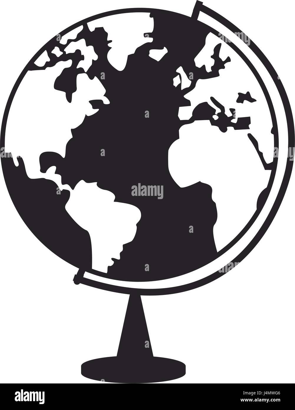 world globe ball map earth education image