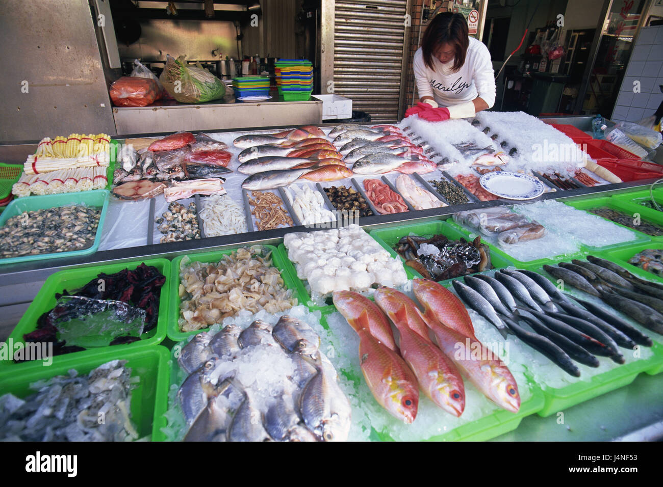 Taiwan kaohsiung cijin iceland seafood restaurant for Fish market iceland