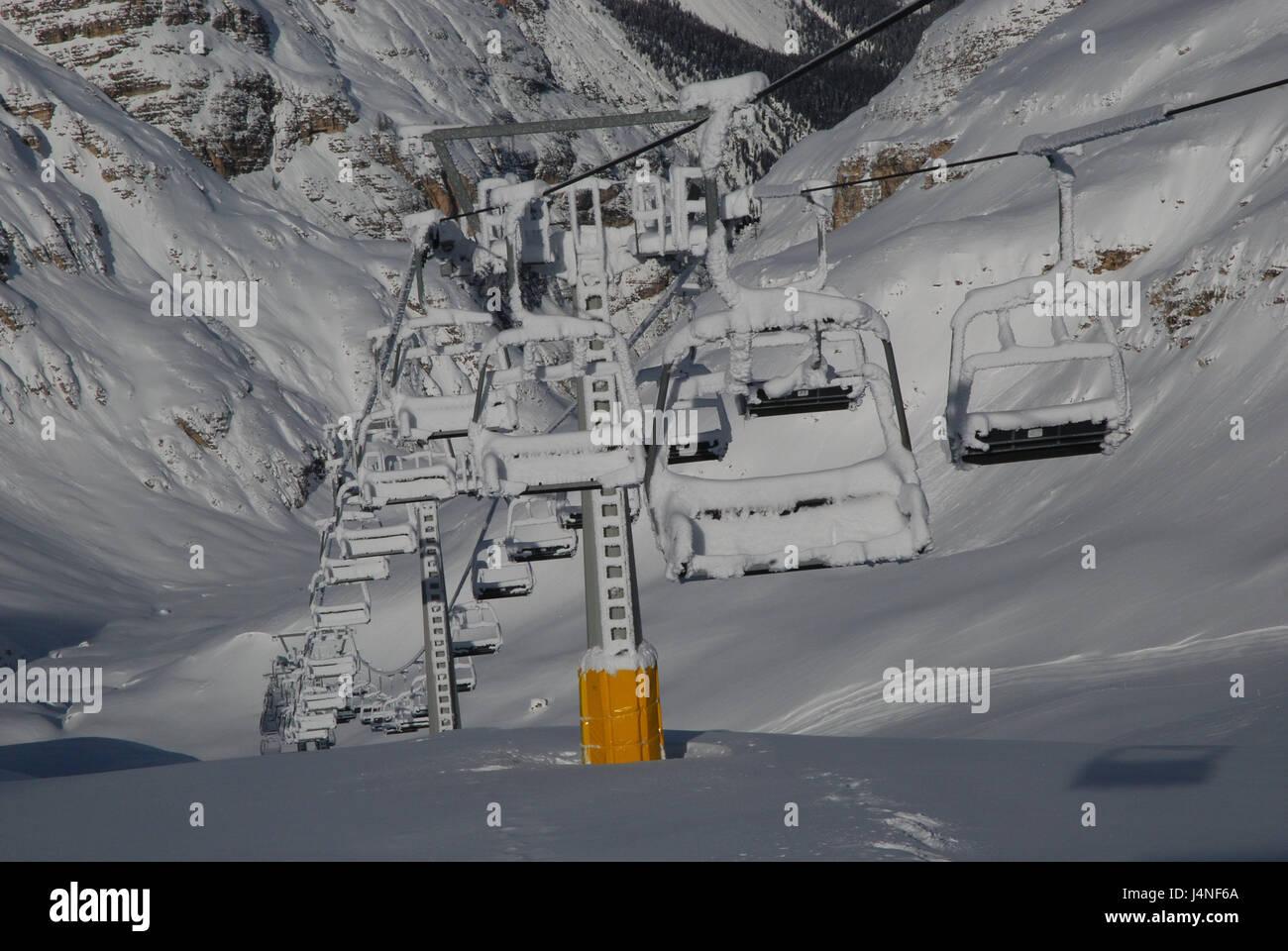 Italy Veneto Cortina D Ampezzo Winter Tofana Tu Centro