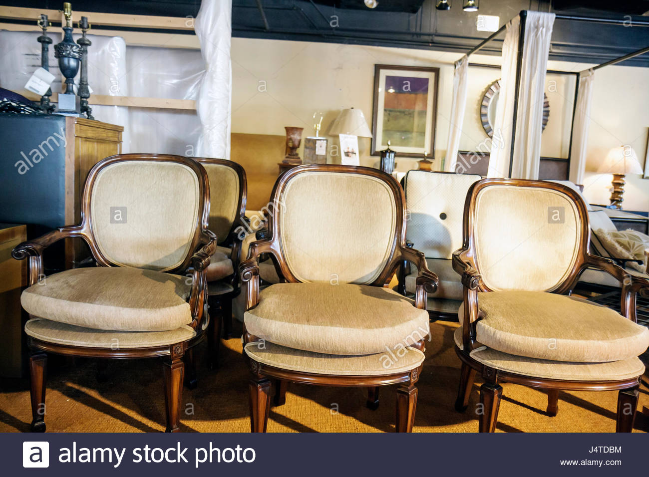 Furniture stores in miami florida - Miami Coral Gables Miami Florida Kreiss Furniture Store Retail Family Business Showroom Chair Upholstery Plush Beige