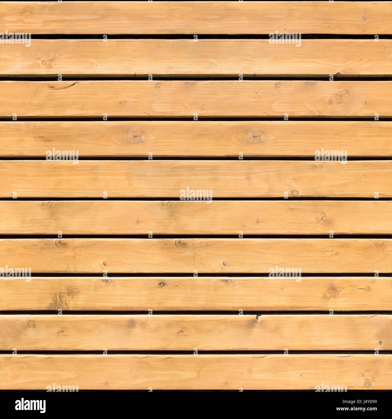 Seamless pattern of brown wooden horizontal planks
