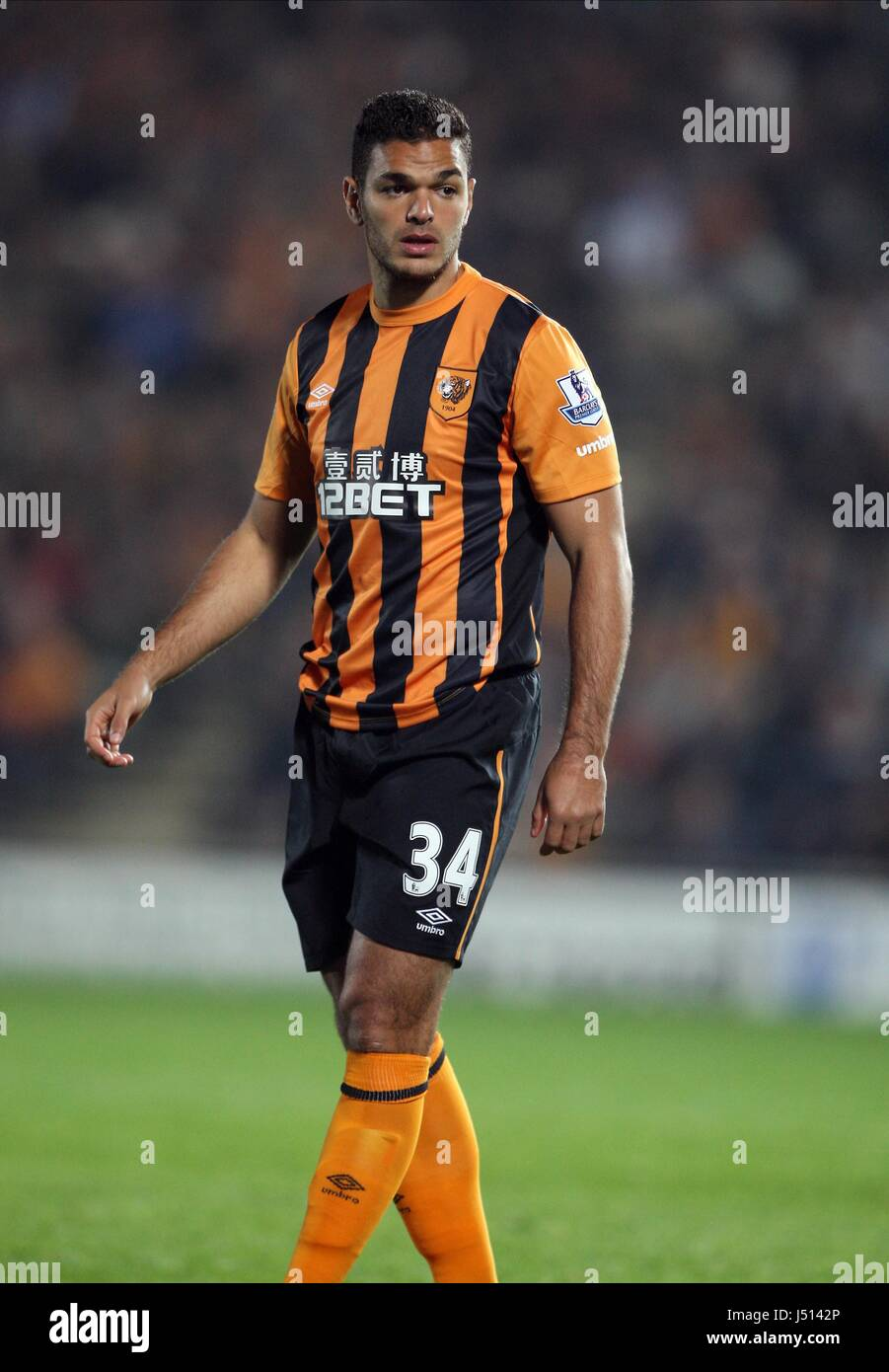 HATEM BEN ARFA HULL CITY FC HULL CITY FC KC STADIUM HULL ENGLAND
