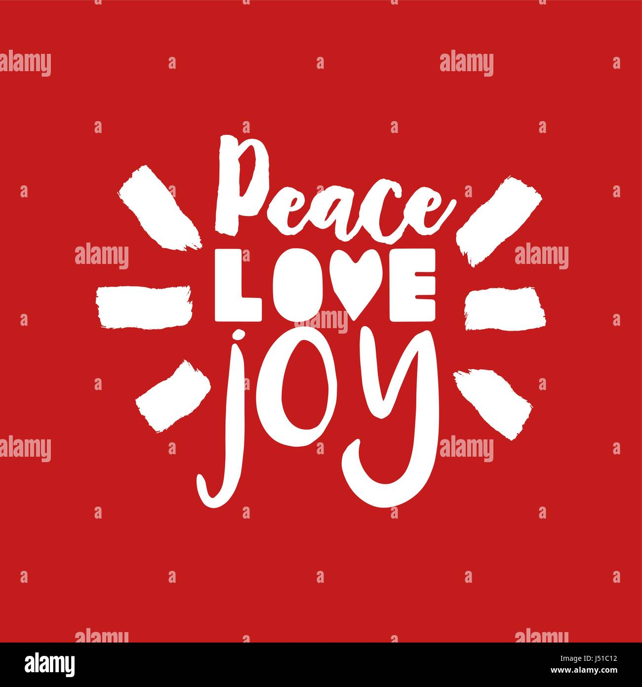 Quote About Peace And Love Awesome Merry Christmas Calligraphic Quote Design Peace Love Joy