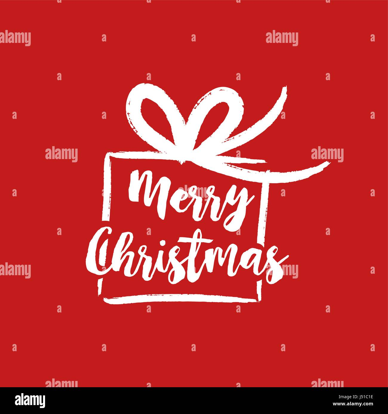 Merry christmas gift text quote calligraphy lettering design for merry christmas gift text quote calligraphy lettering design for holiday season creative red typography font illustration eps10 vector negle Choice Image