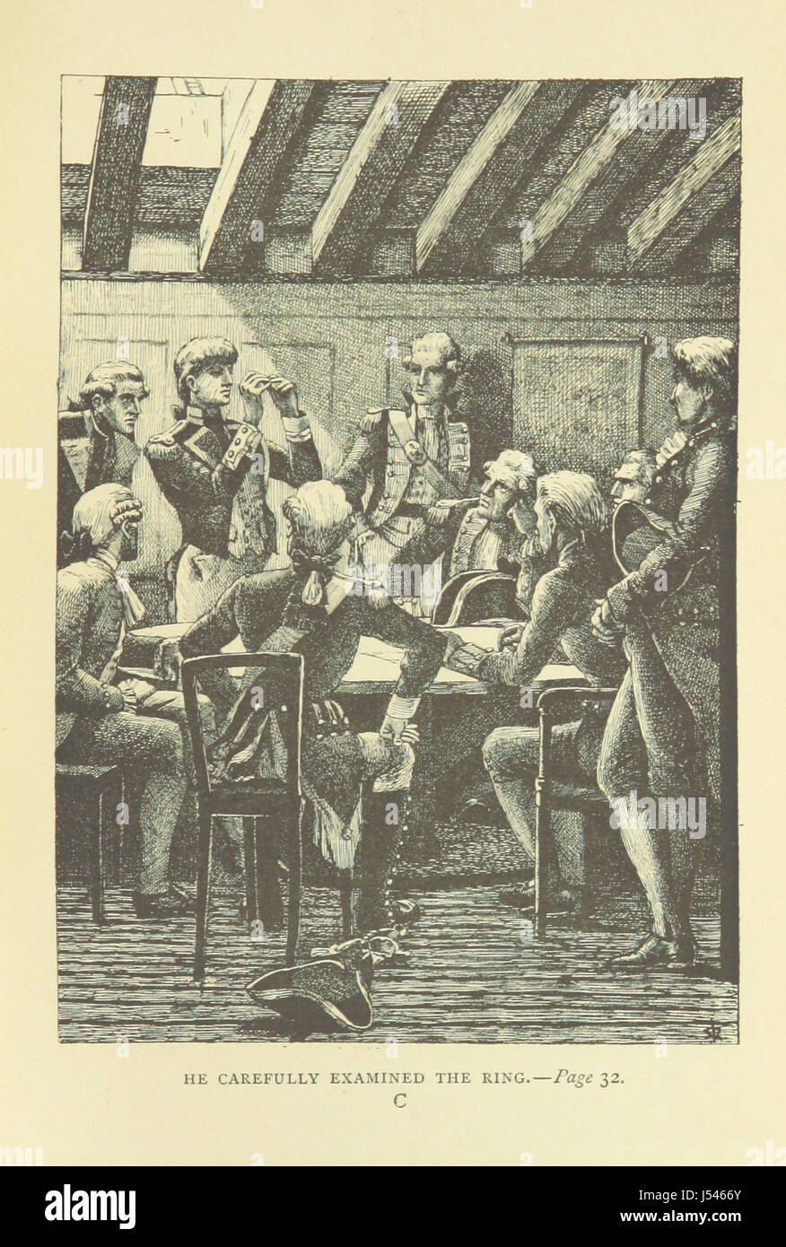 Image taken from page 37 of 'With the Green Jackets: or, the life ...