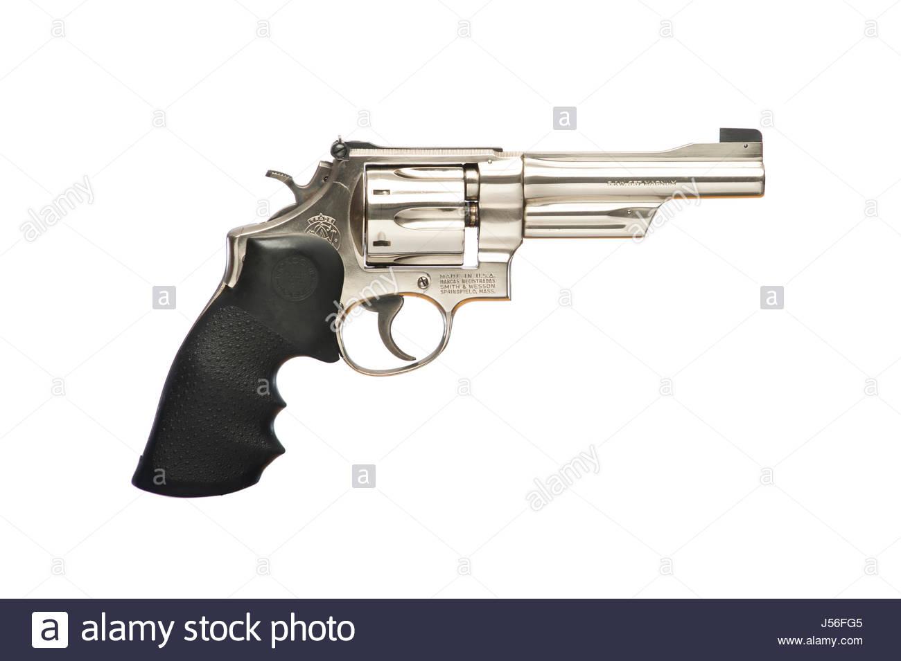 Smith & Wesson Model 27, N Frame, 5 inch barrel revolver pistol ...