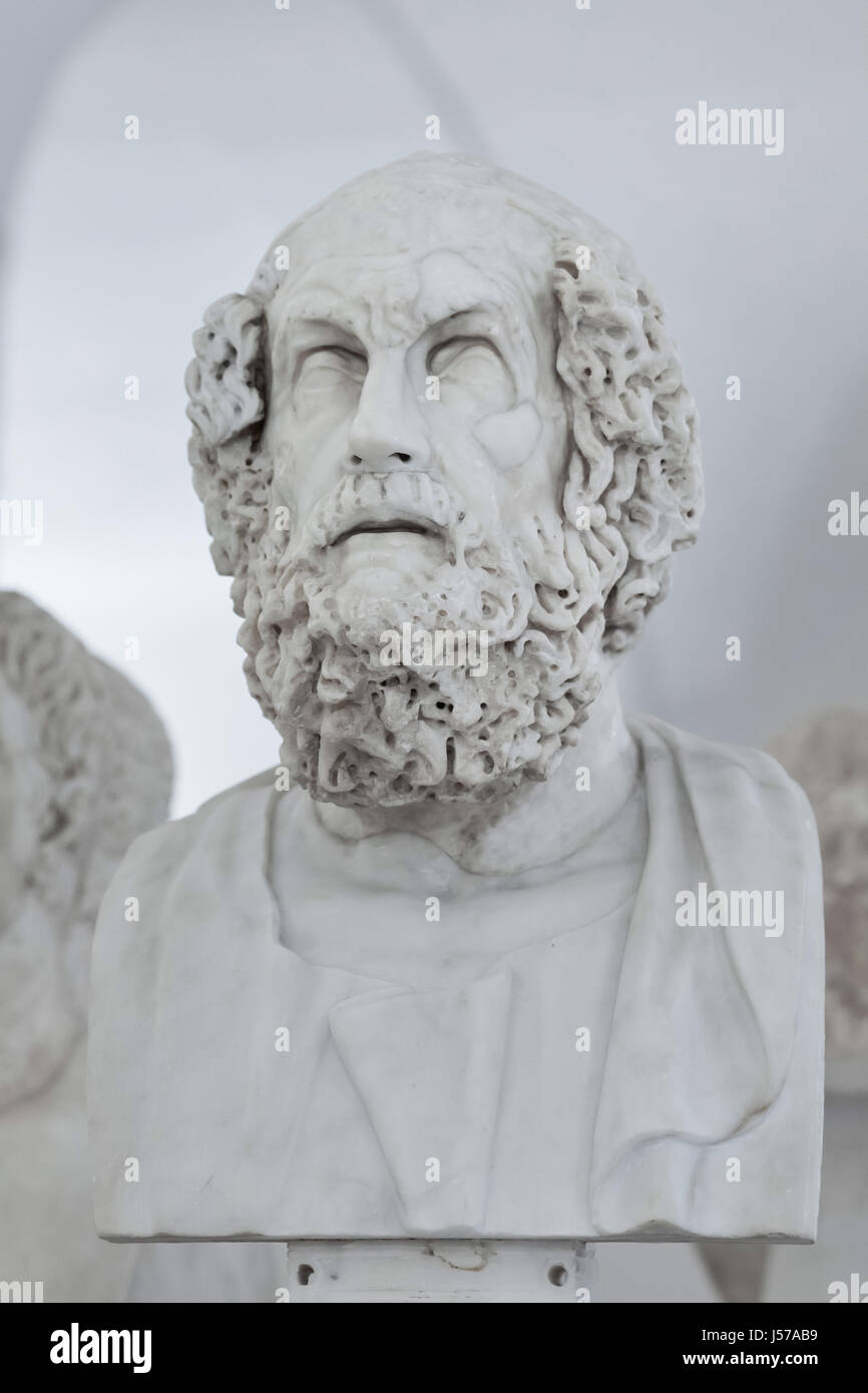 the works of homer a poet of ancient greece Or perhaps even a series of poets handing down their work in of the odyssey seems more akin to homer's greece dialect of ancient greek.