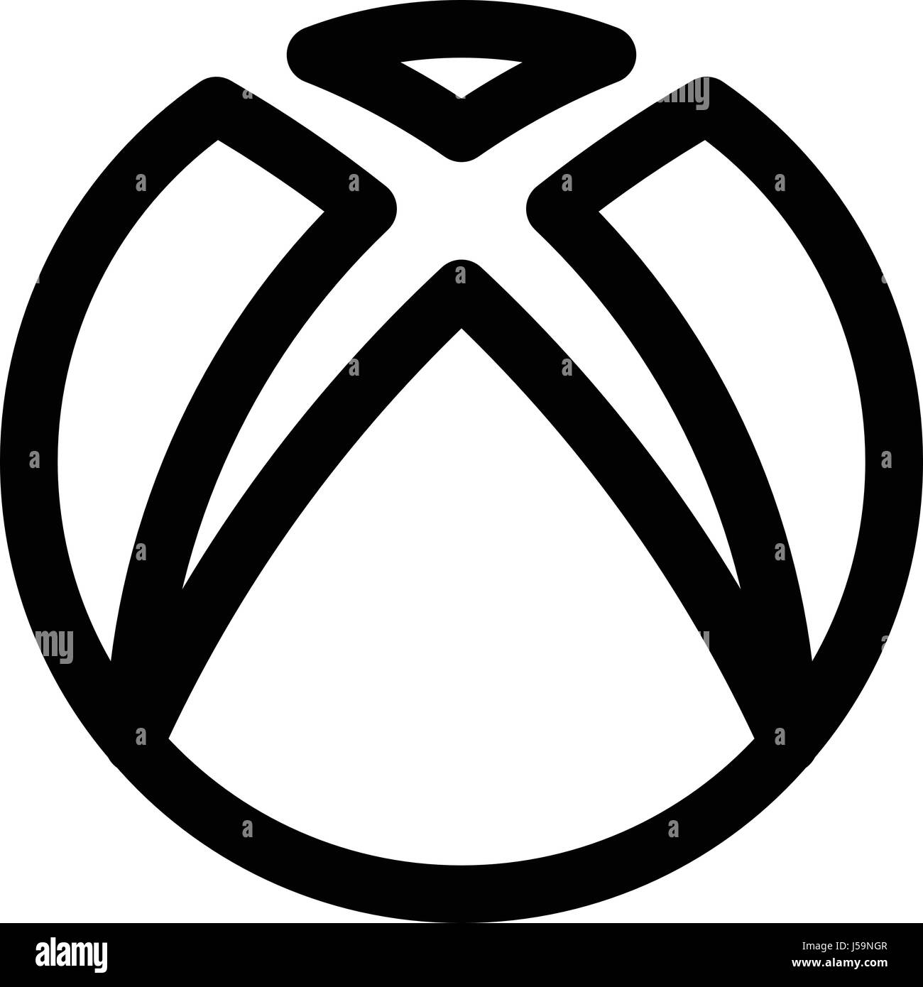 xbox Stock Vector Art & Illustration, Vector Image: 140970727 - Alamy