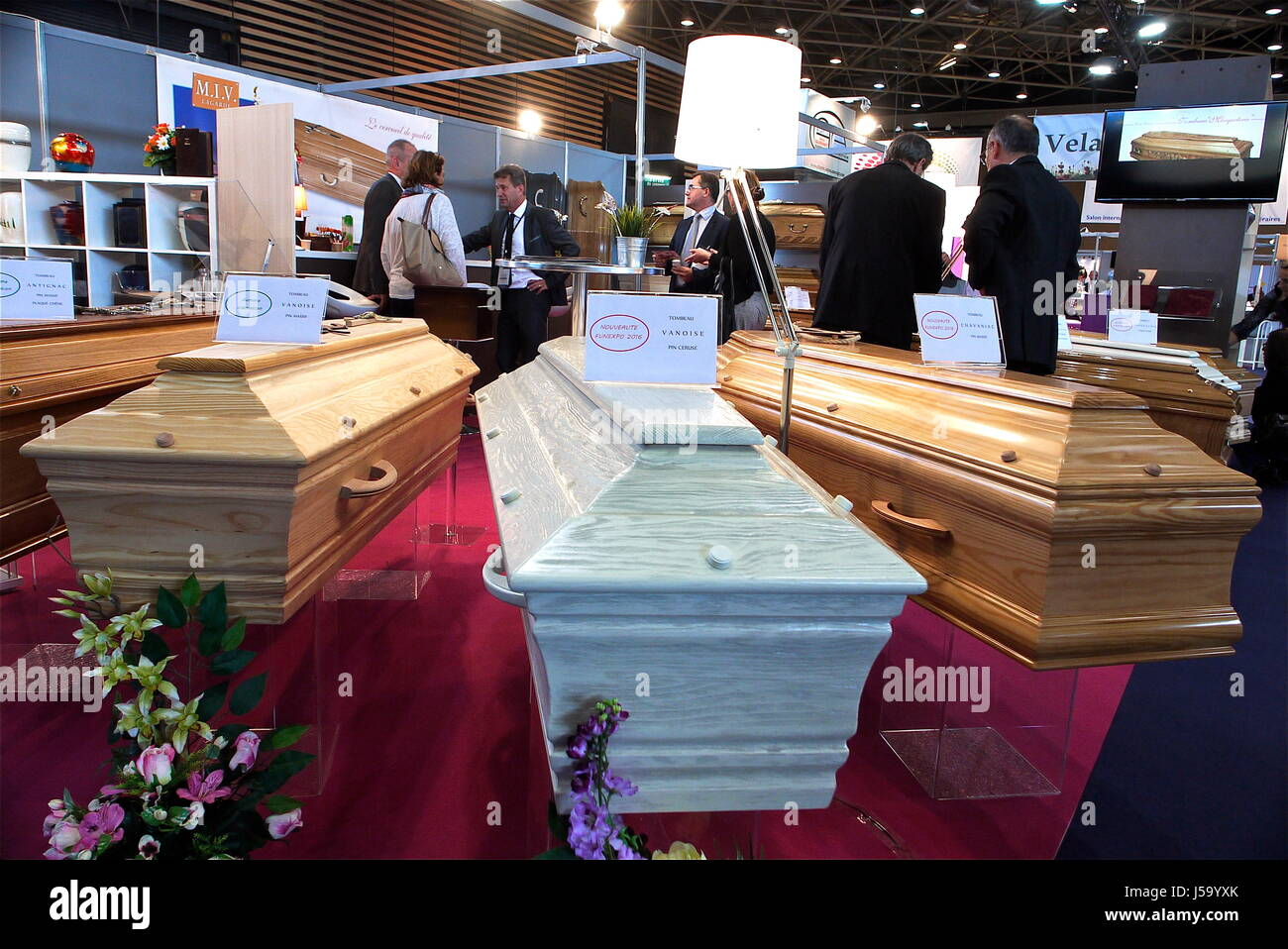 The funeral services industry