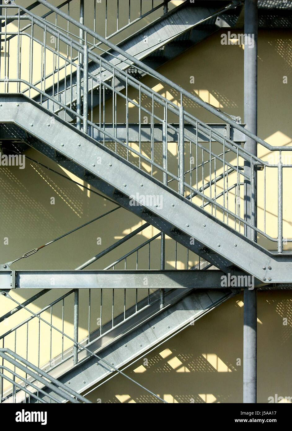 Stock Photo   Stairs Upwards Steel Steel Construction Staircase Coiled Run  High Countermoving