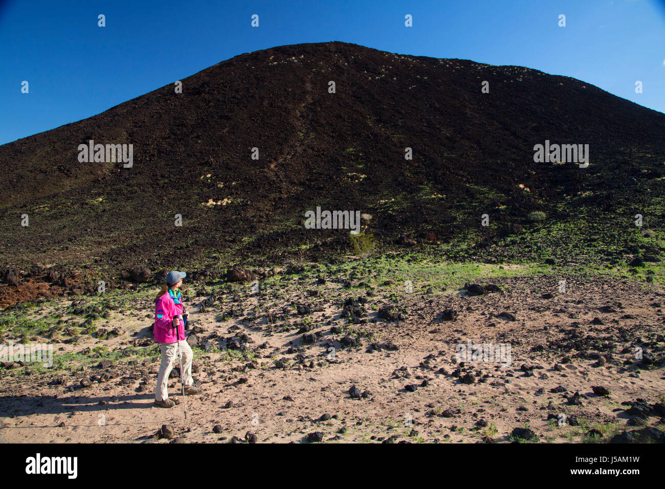 Desert Volcano Cinder Cone California Stock Photos \u0026 Desert ...
