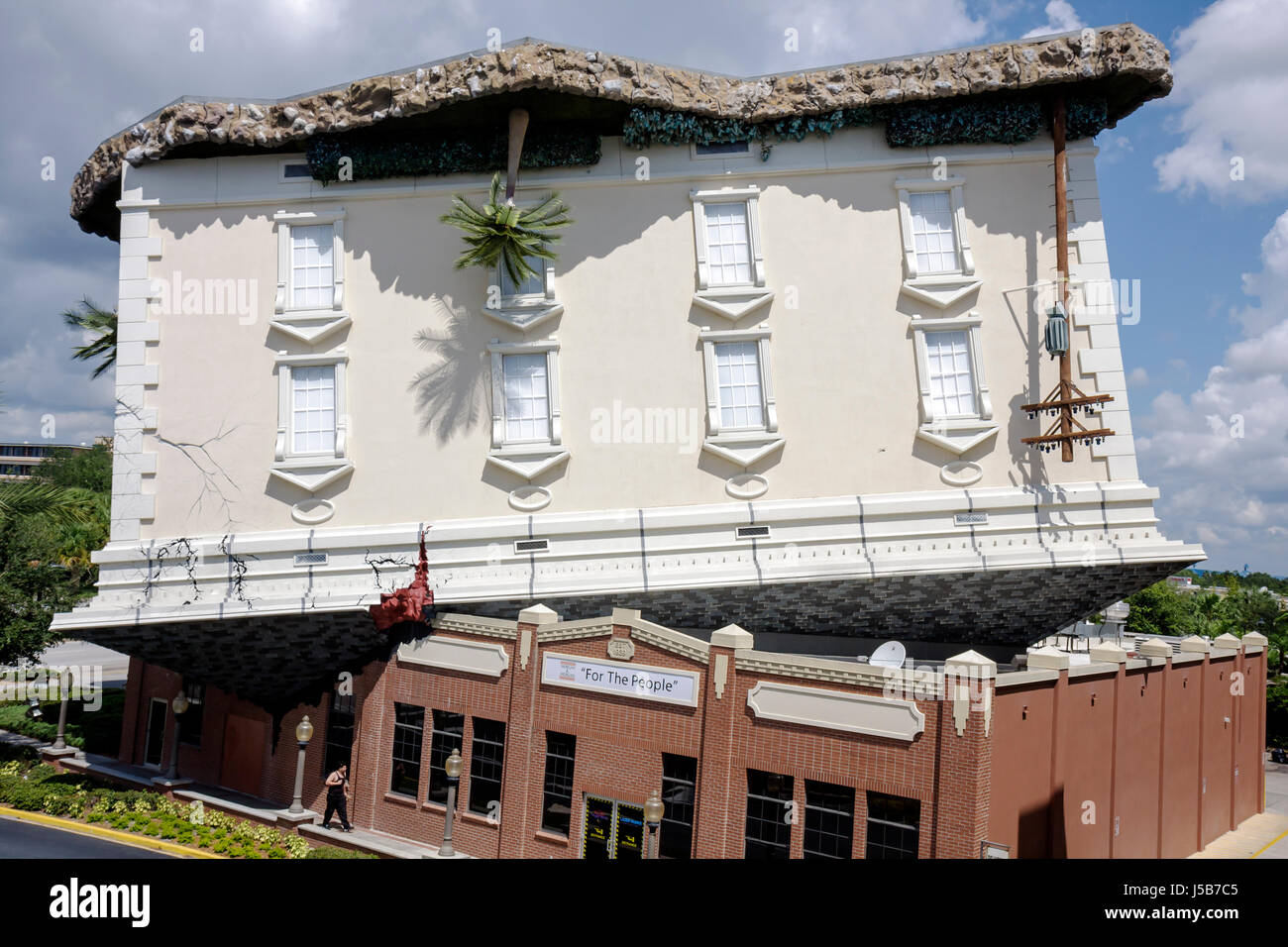Upside Down Building Stock Photos Upside Down Building
