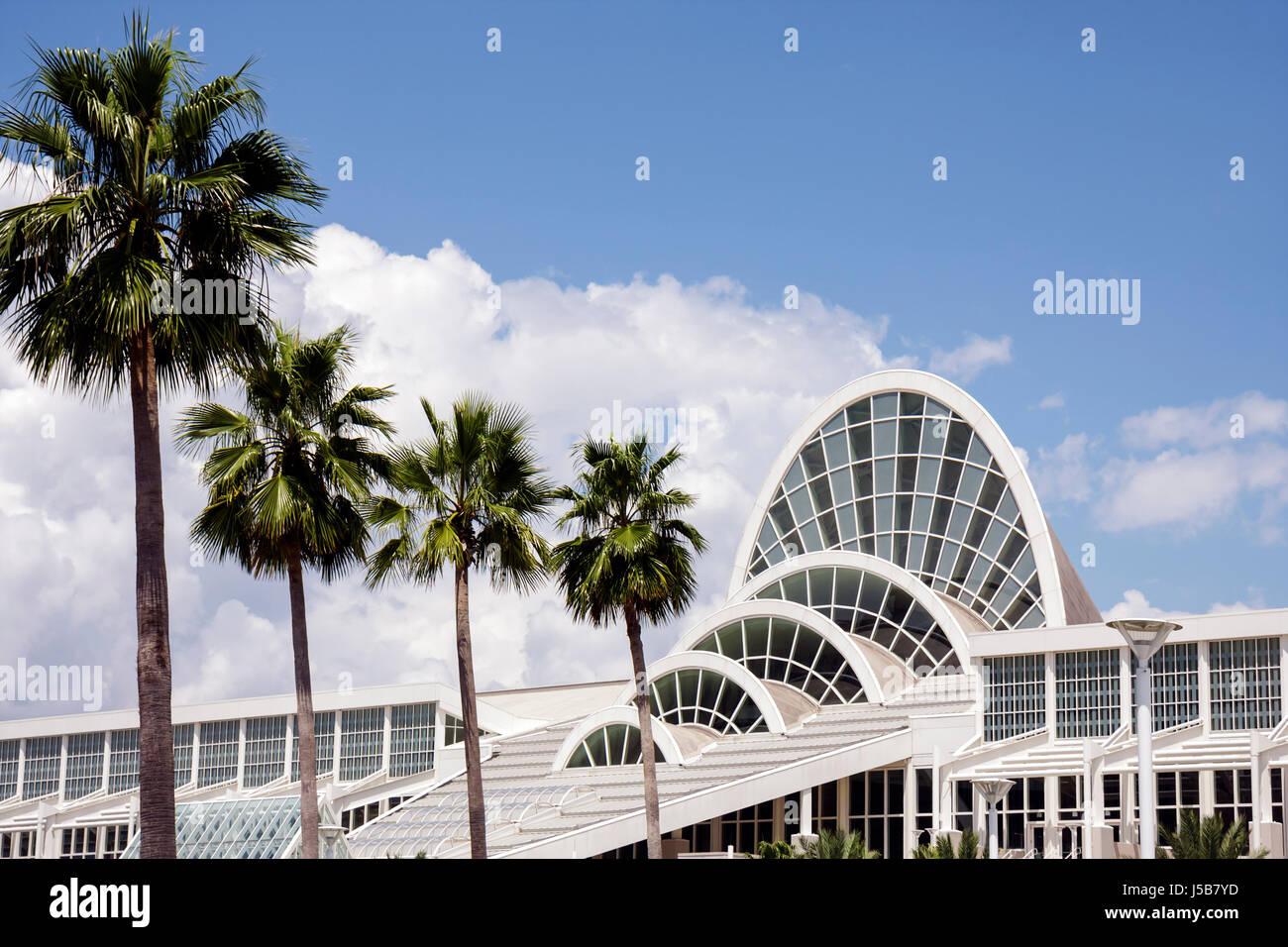 Modern Architecture Orlando orlando florida orange county convention center centre arches