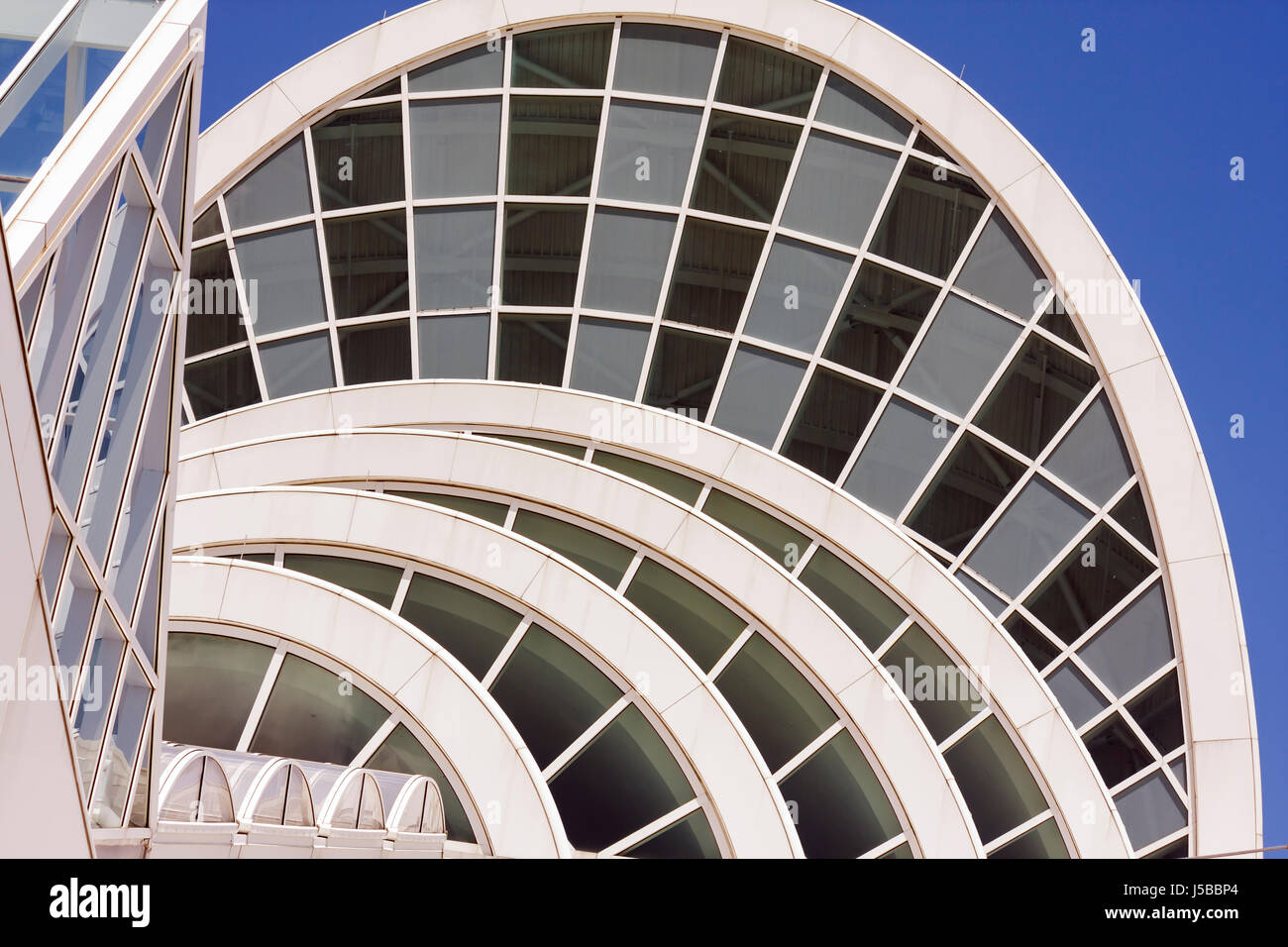 orlando florida orange county convention center centre arches windows stock photo royalty free. Black Bedroom Furniture Sets. Home Design Ideas