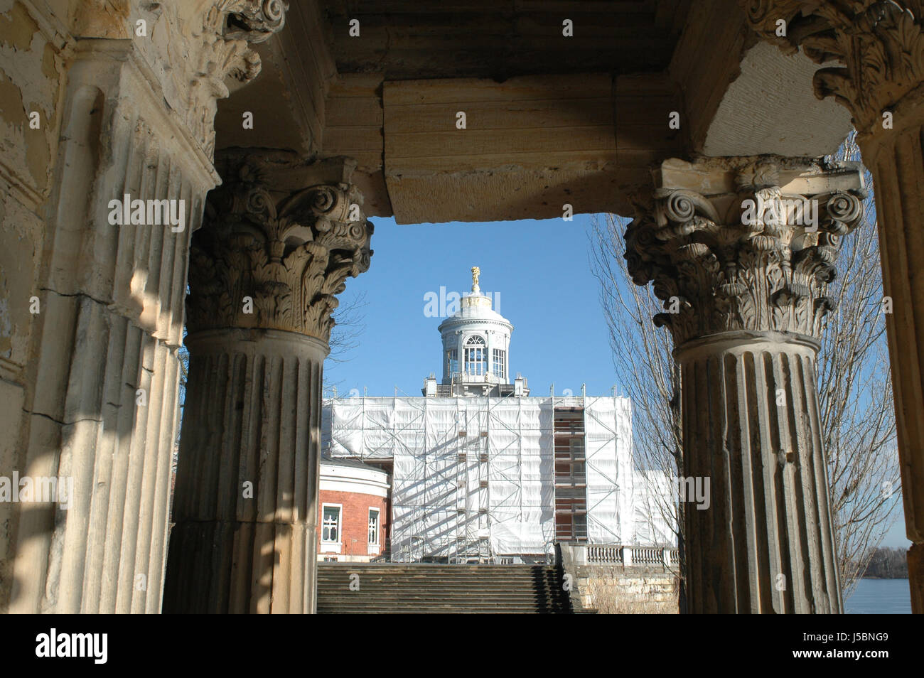 Marble Palace In Potsdam   Stock Image