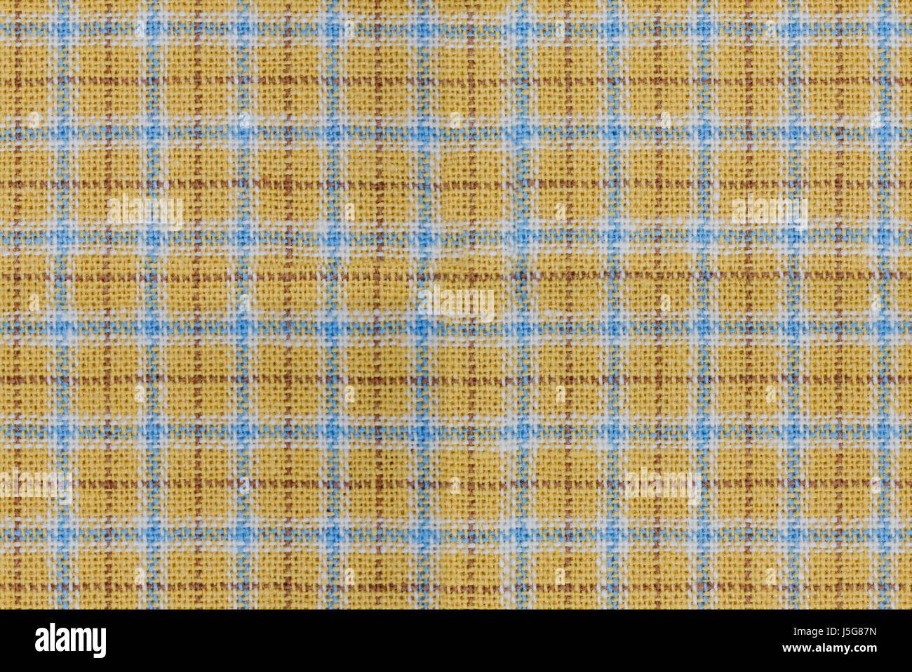 Blue Yellow Fabric Weave Seamless Stock Photos & Blue Yellow ...