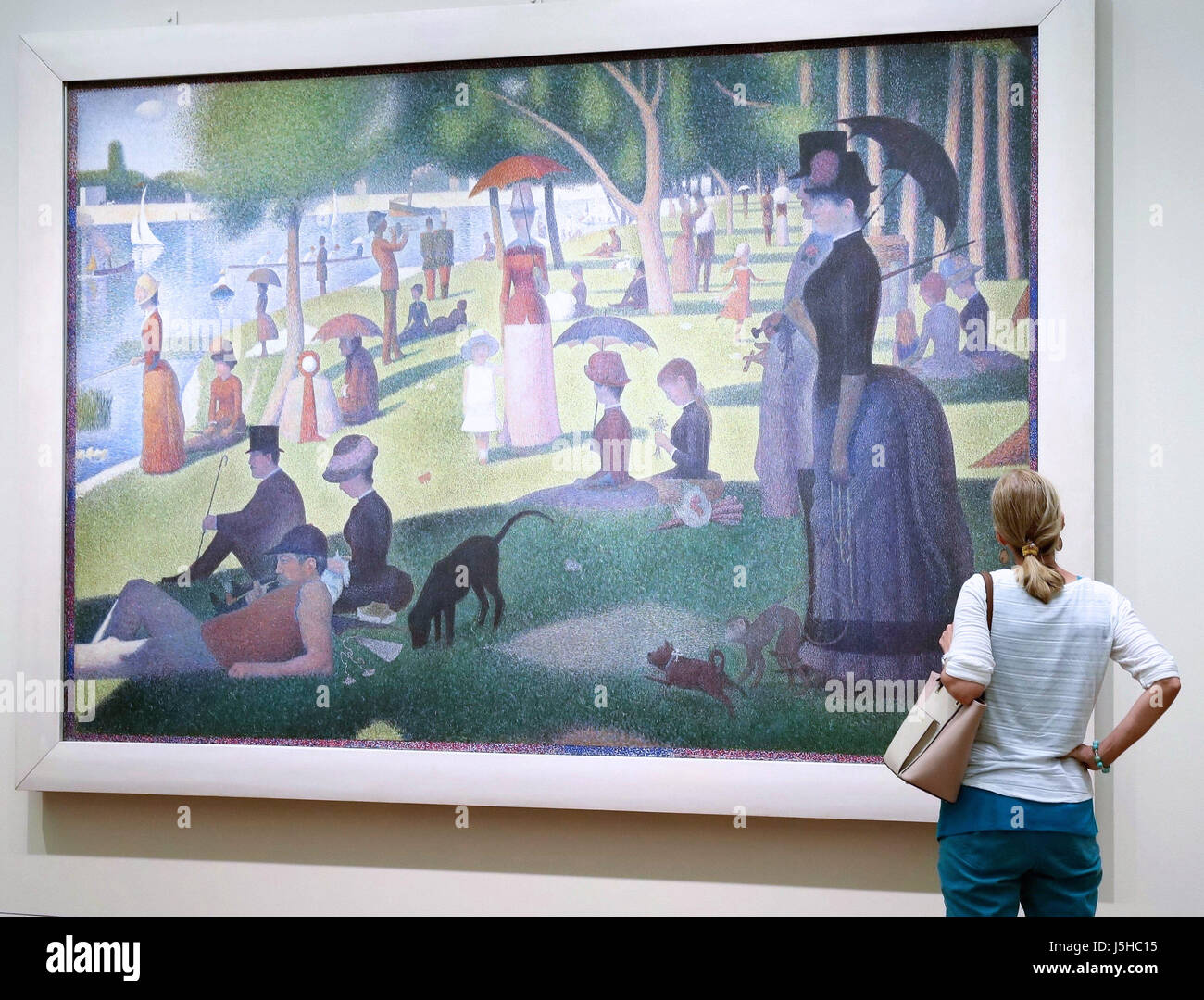 Chicago USA Th May  A Woman Views A Painting At The - Famous art museums in usa