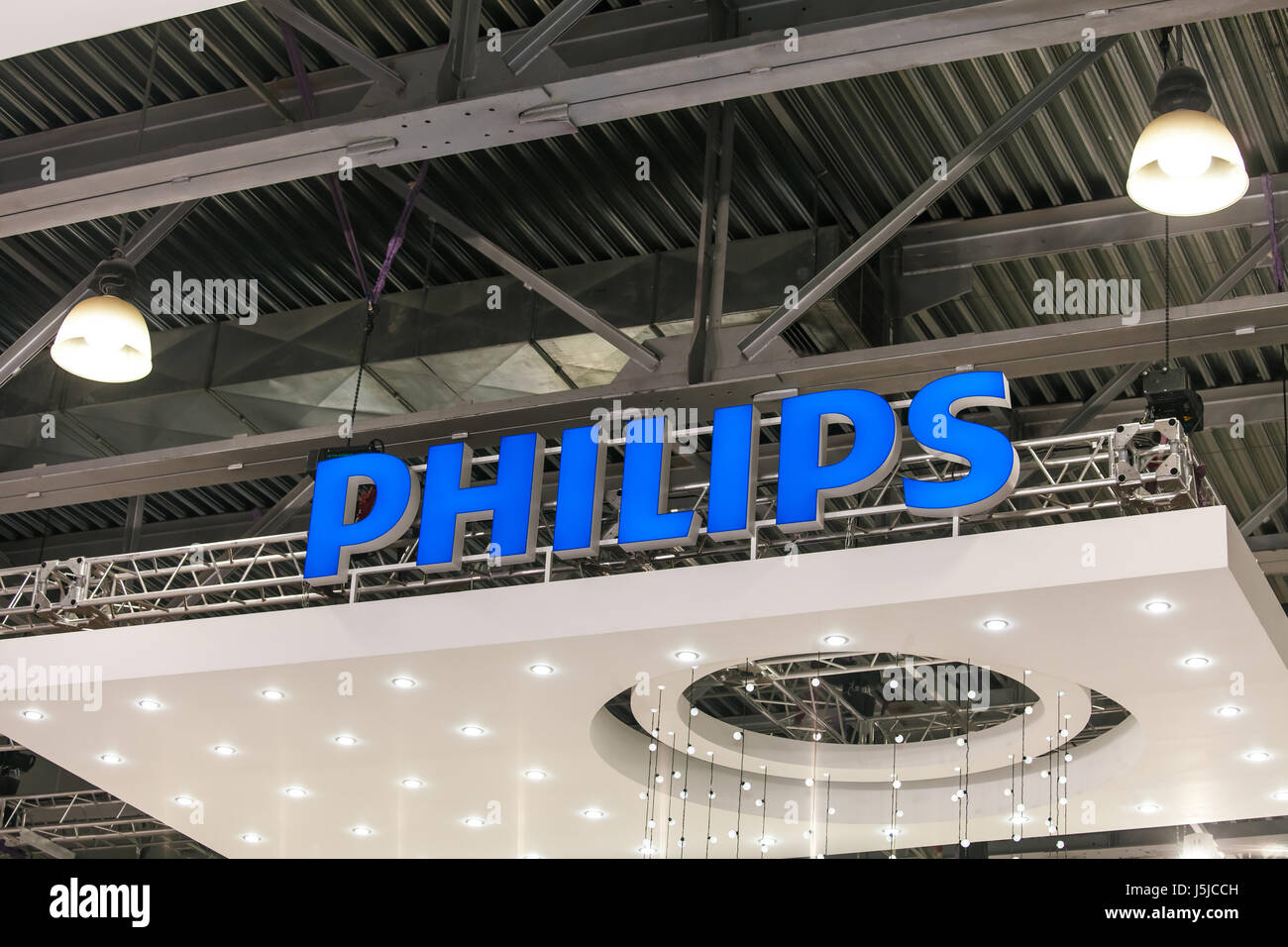 Philips company stock photos philips company stock images alamy moscow russia april 2017 philips company logo sign philips s a dutch buycottarizona