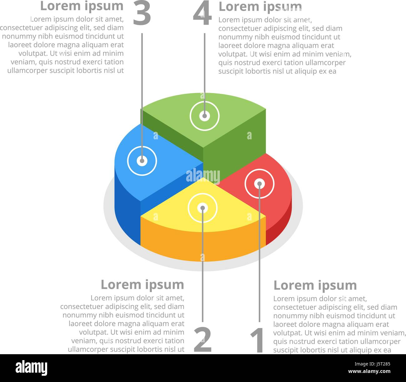 Pie chart on isolated background isometric pie charts different pie chart on isolated background isometric pie charts different nvjuhfo Choice Image