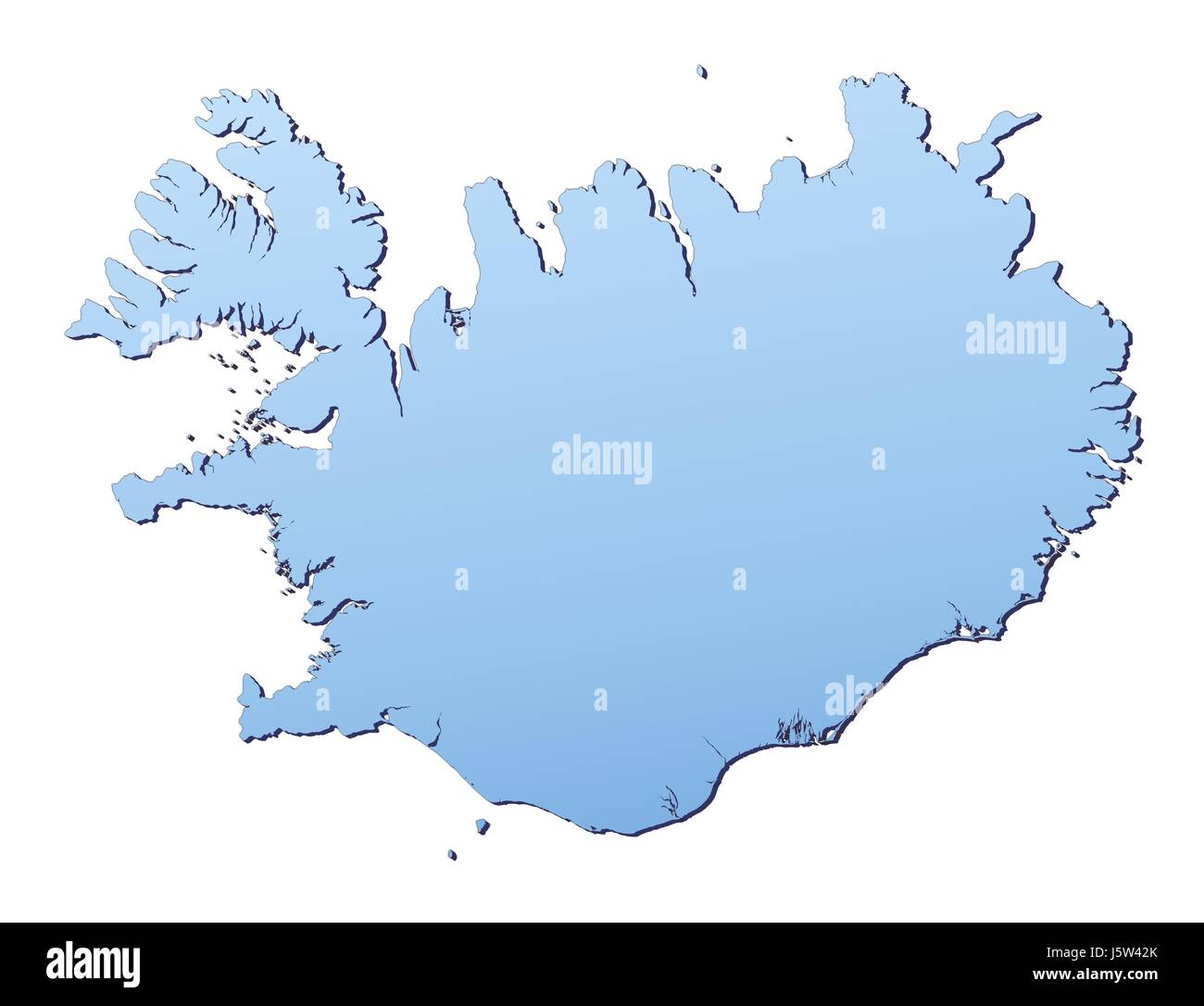 Outline map country iceland stock photos outline map country blue isolated outline iceland gradient map atlas map of the world backdrop stock image gumiabroncs Images