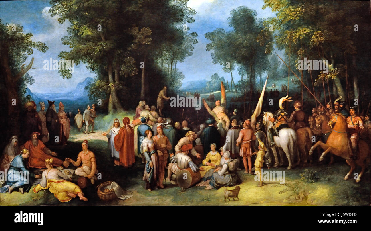 saint john the baptist preaching by Sermon for advent 3 john the baptist the reverend charles royden click here to listen to this sermon so this morning our passage is taken from john's gospel and the account of john the baptist.