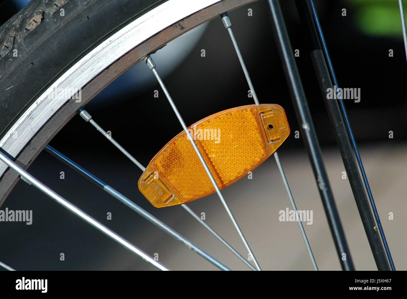 Wheel Reflector Spoke Cat Eye Spokes Reflect Bike Bicycle Cycle