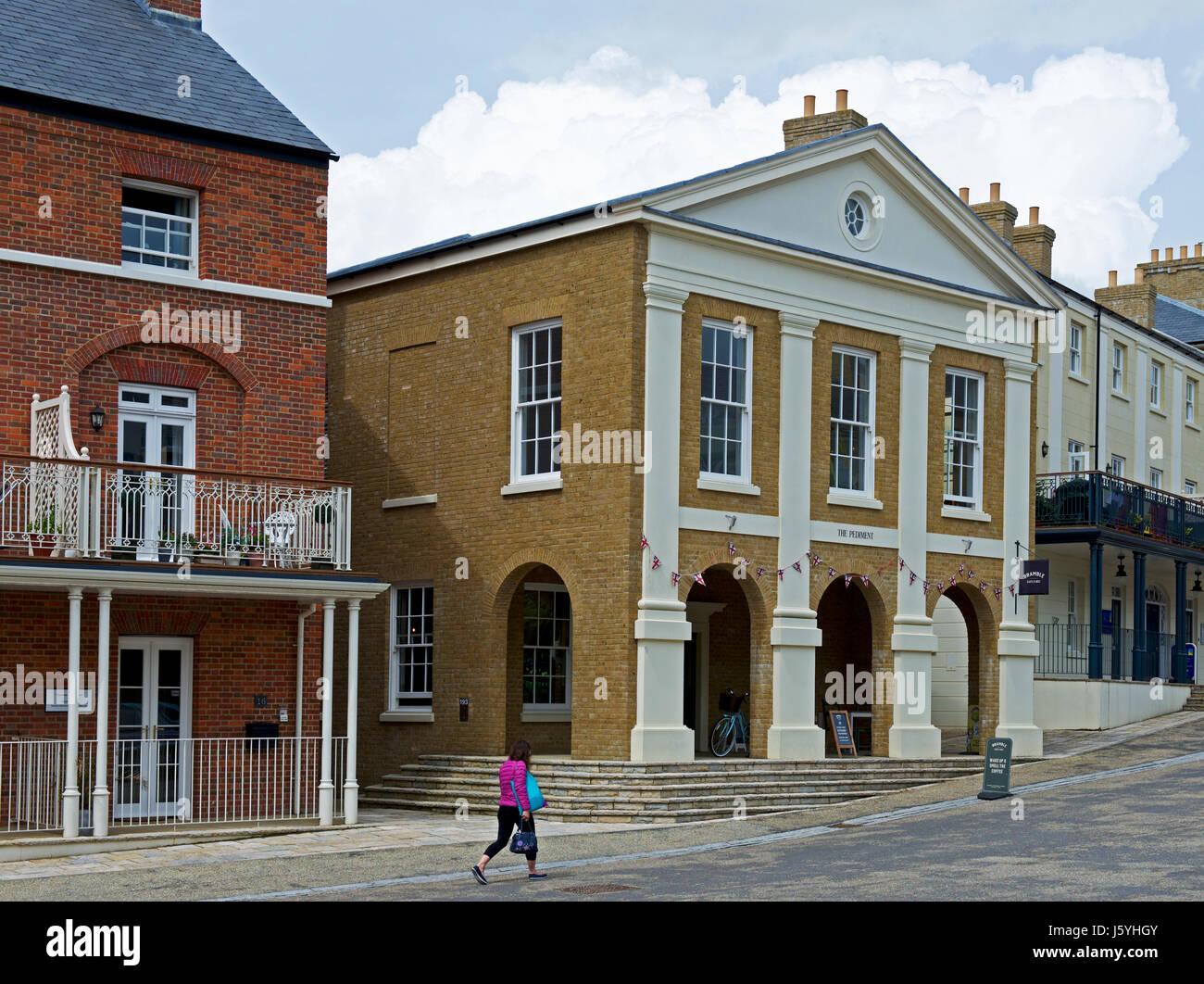 The collectors olivey place mylor bridge nr falmouth cornwall uk - Poundbury Dorset England Uk Stock Image