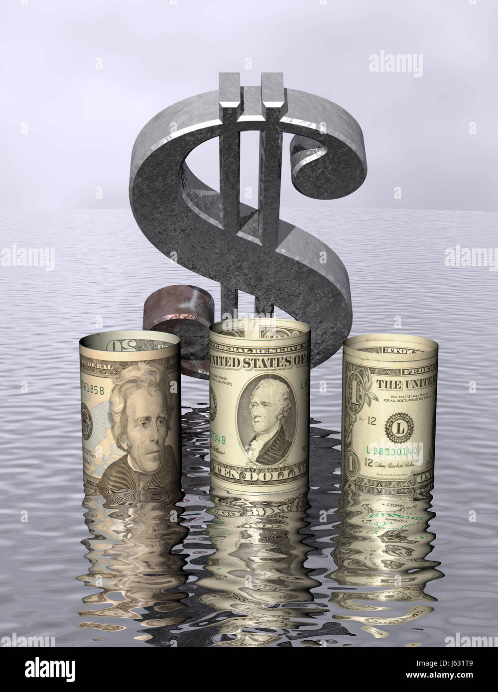 Dollar dollars downfall high tide stock photos dollar dollars dollar dollars downfall high tide break in prices downward spurt plunging stock stock image biocorpaavc