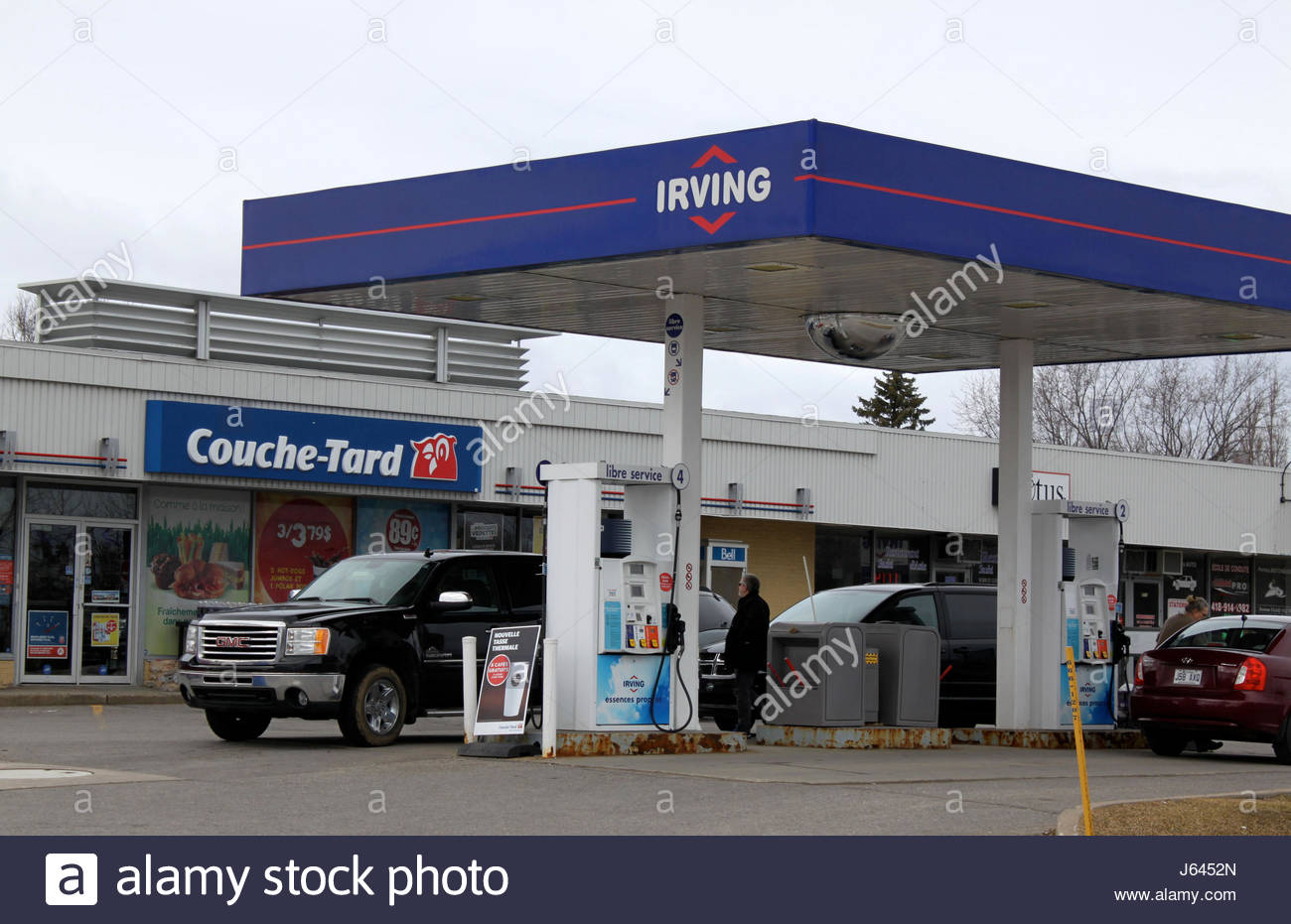 french gas station stock photos french gas station stock images alamy. Black Bedroom Furniture Sets. Home Design Ideas