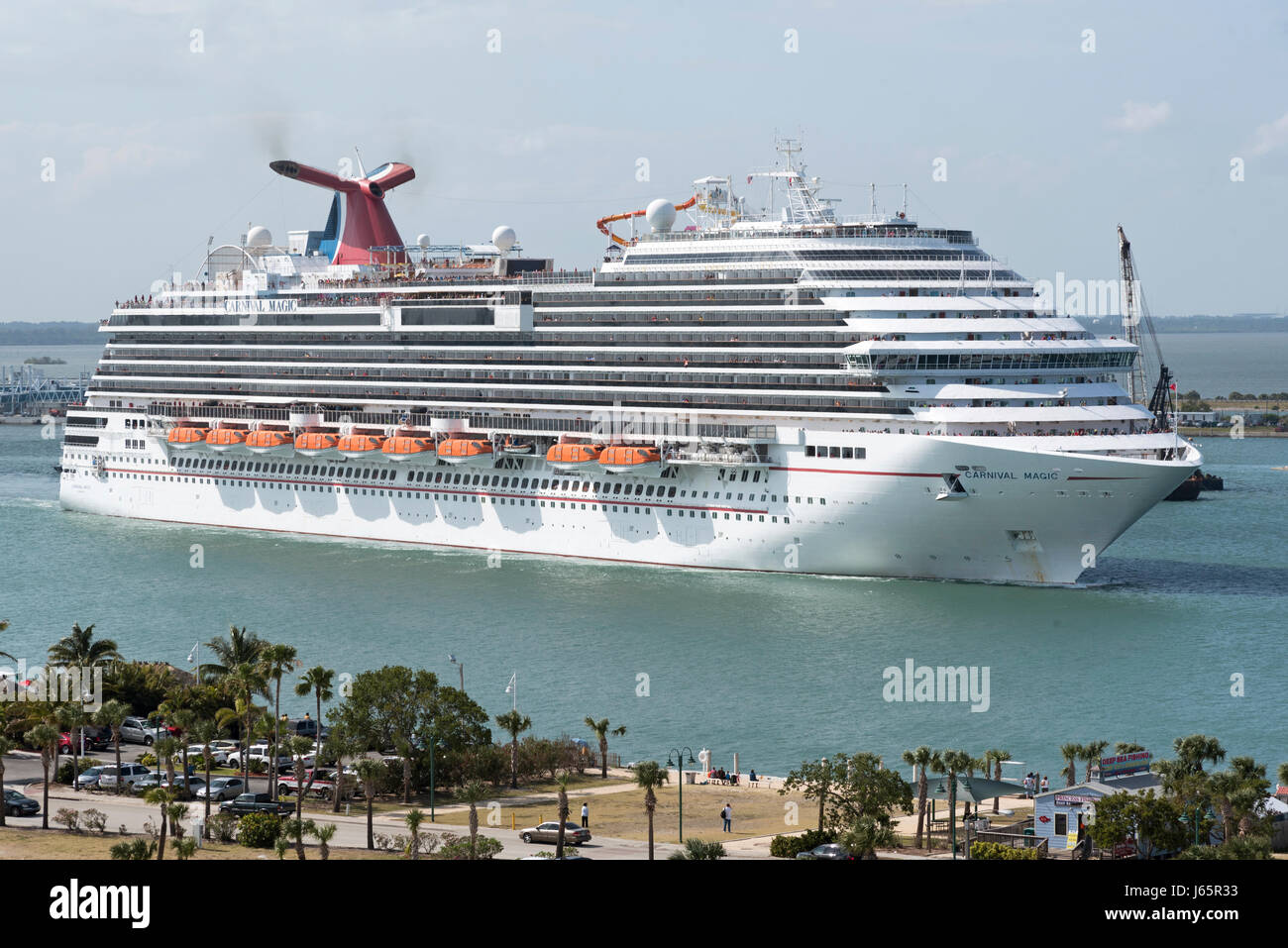 Crusie ship stock photos crusie ship stock images alamy - Port canaveral cruise lines ...