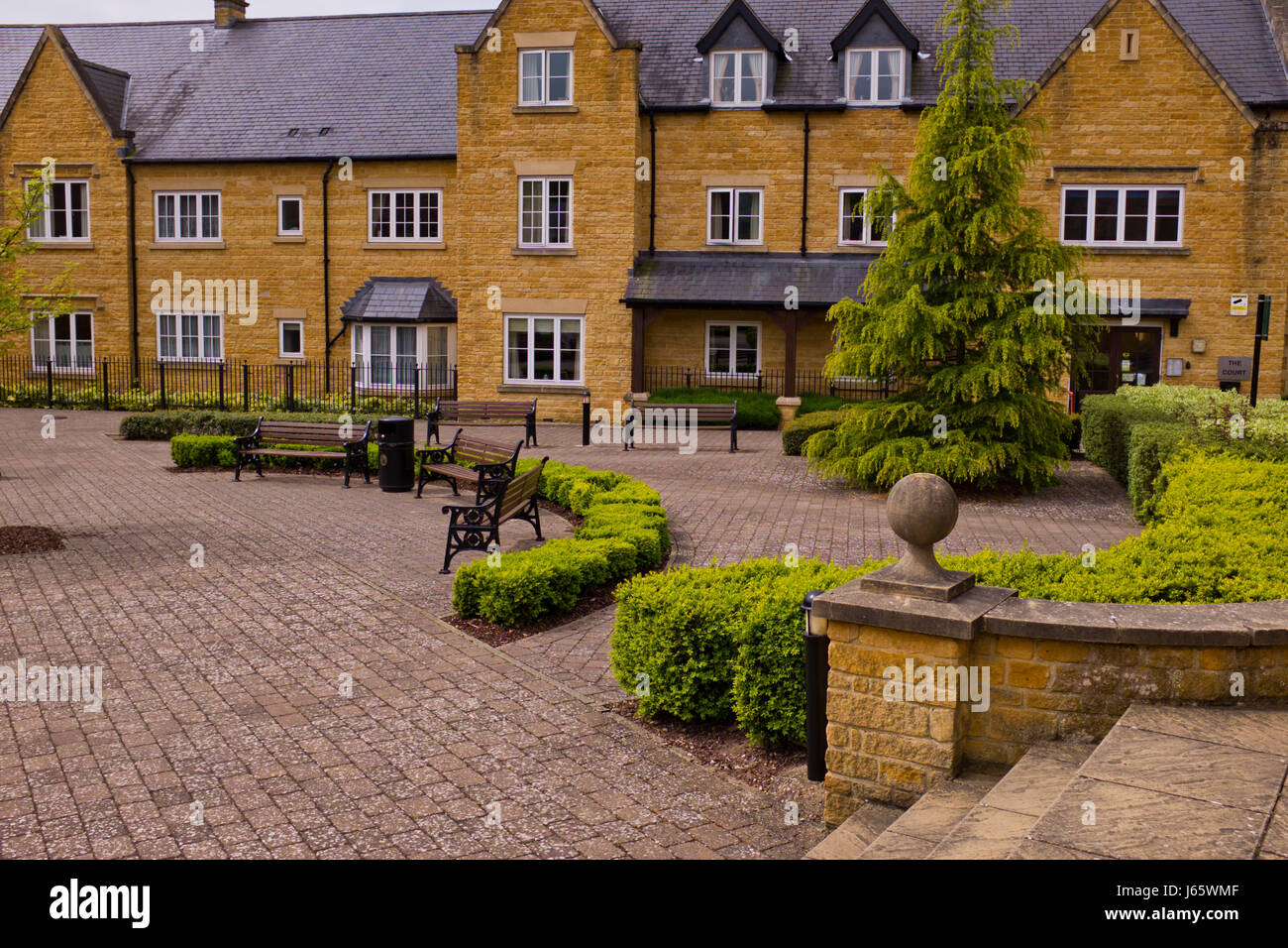 Broadway,Old Cotswold Village with Hotel Lygon Arms old ...