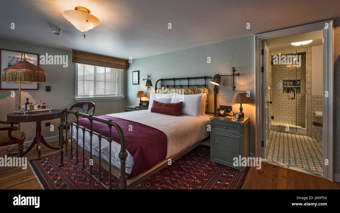 Retro Decor Small Bedroom With Retro Decorthe Ned Hotel London United