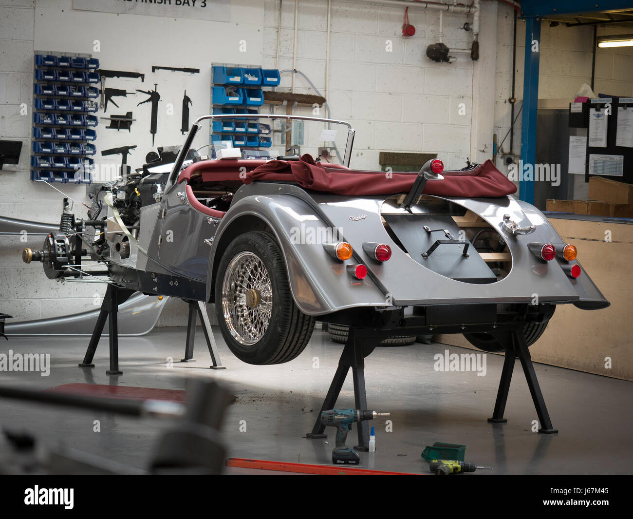 Morgan Motor Cars are still made in Malvern, England much as they ...