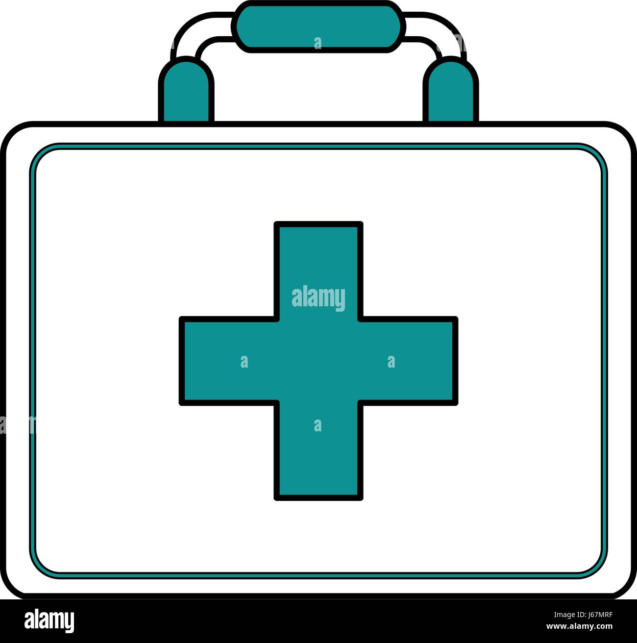 Color silhouette image cartoon first aid kit with blue symbol color silhouette image cartoon first aid kit with blue symbol cross buycottarizona