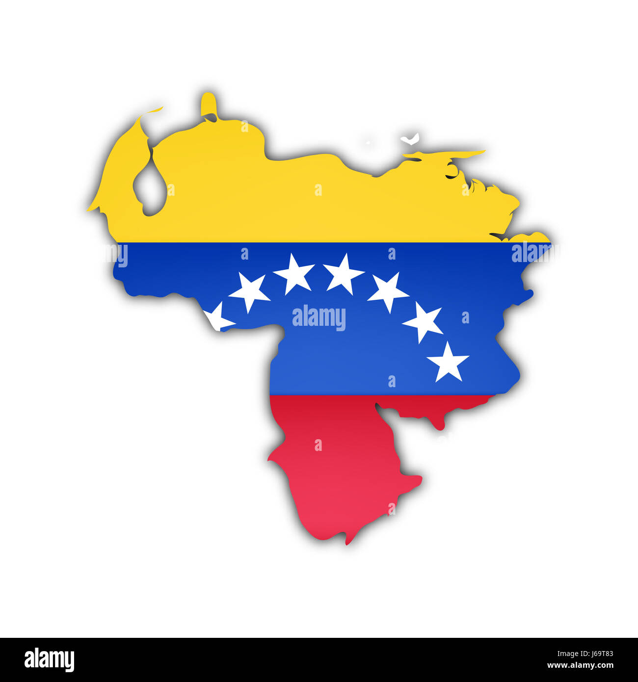 america flag south venezuela map atlas map of the world travel Stock ...