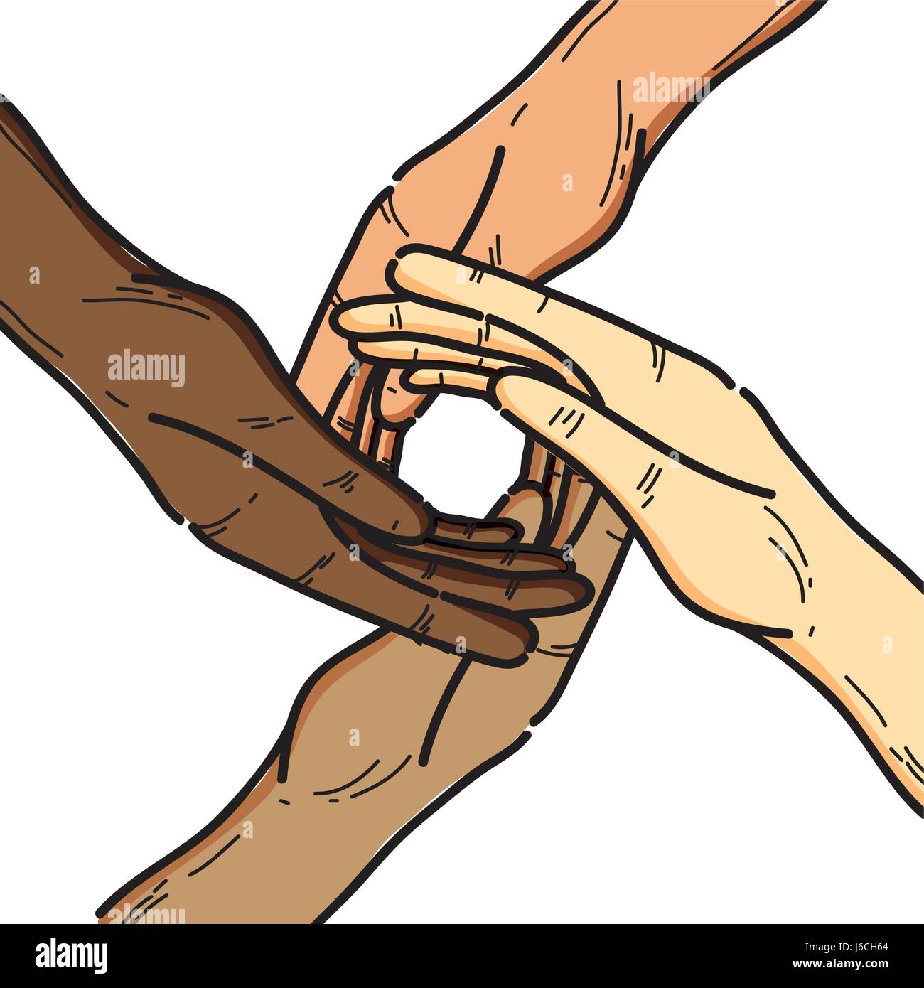 Friendship cut out stock images pictures alamy nice hands together like friendship symbol stock image buycottarizona Choice Image