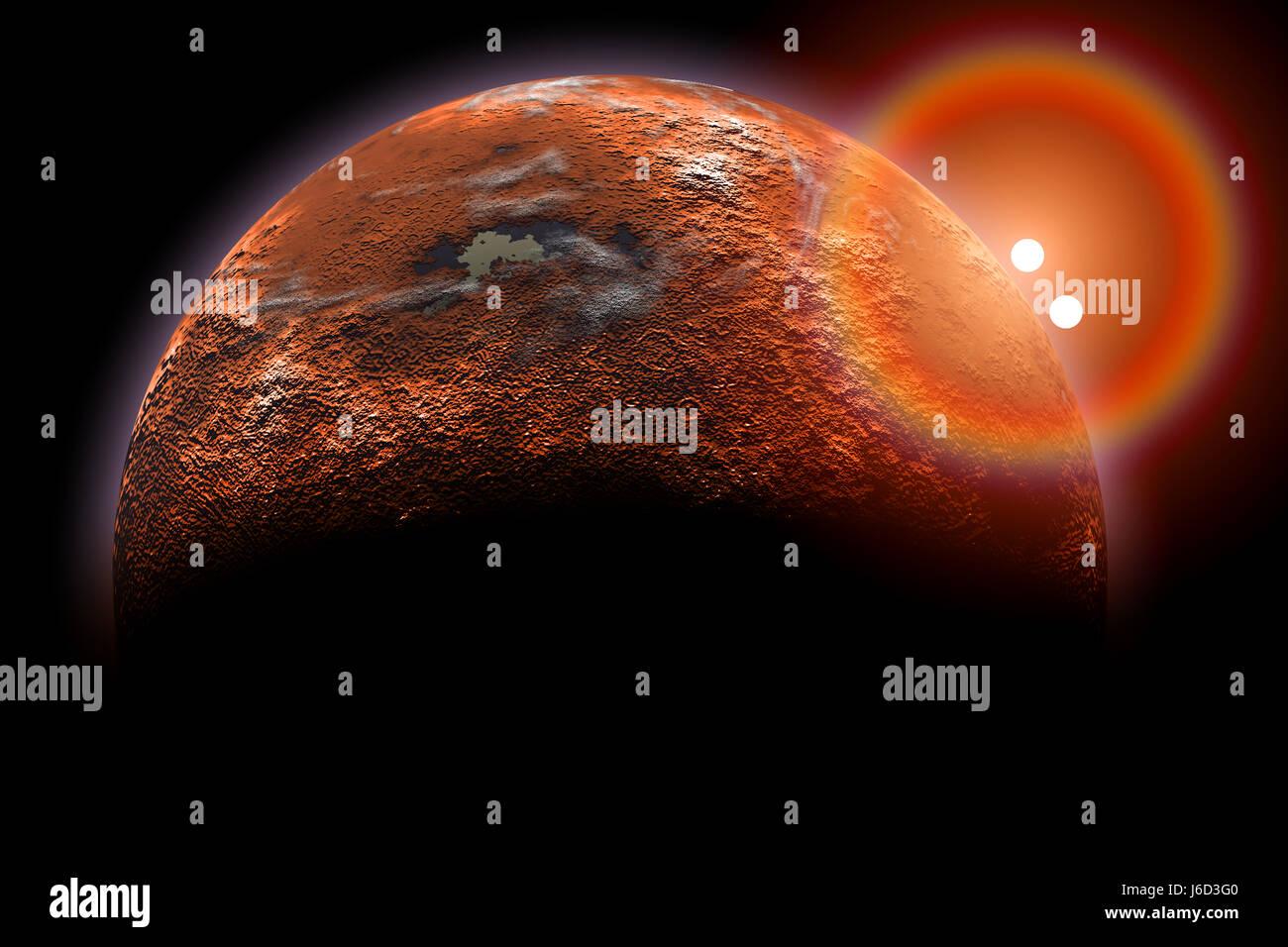 Proxima Centauri B-Exoplanet Stock Photo, Royalty Free ...