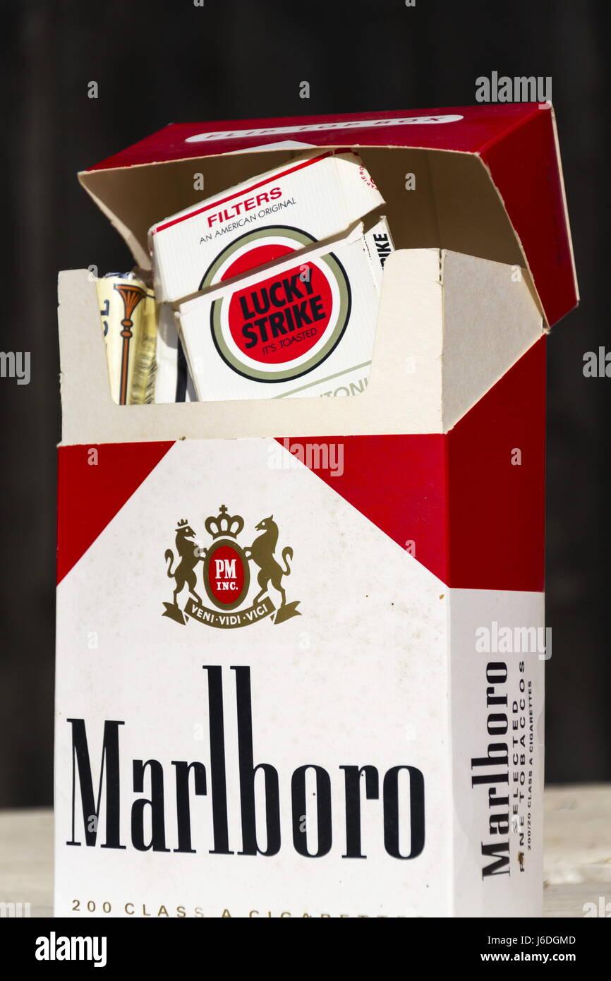 Marlboro cigarette UK ok