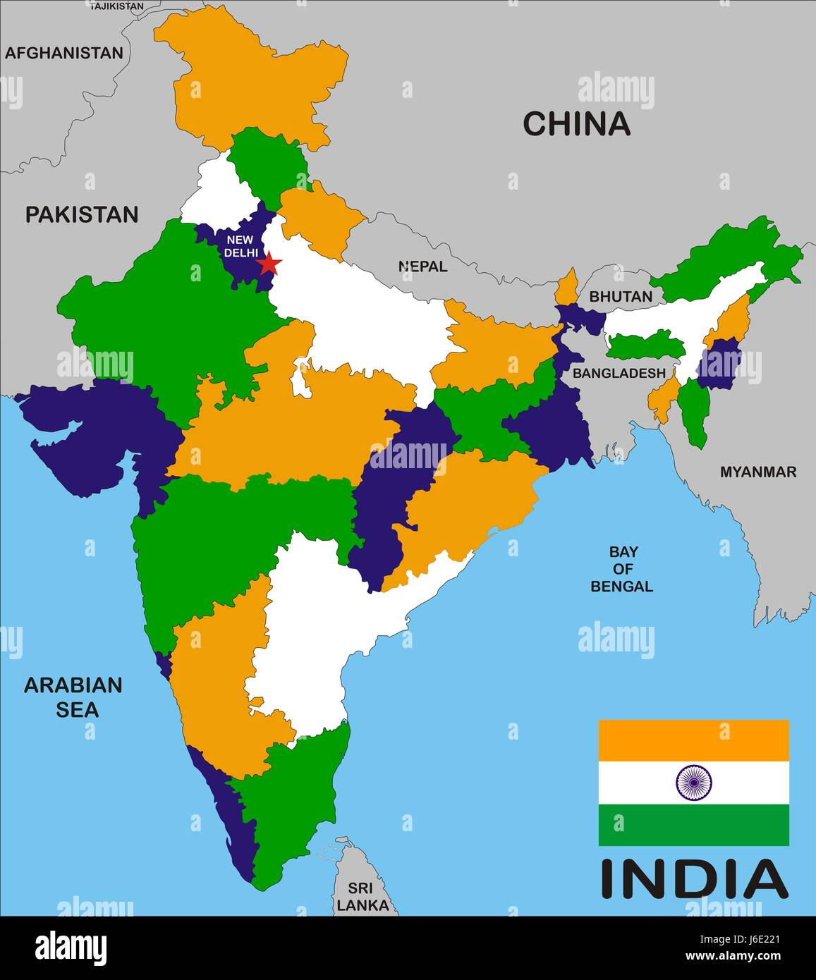 India Map Stock Photos  India Map Stock Images  Alamy
