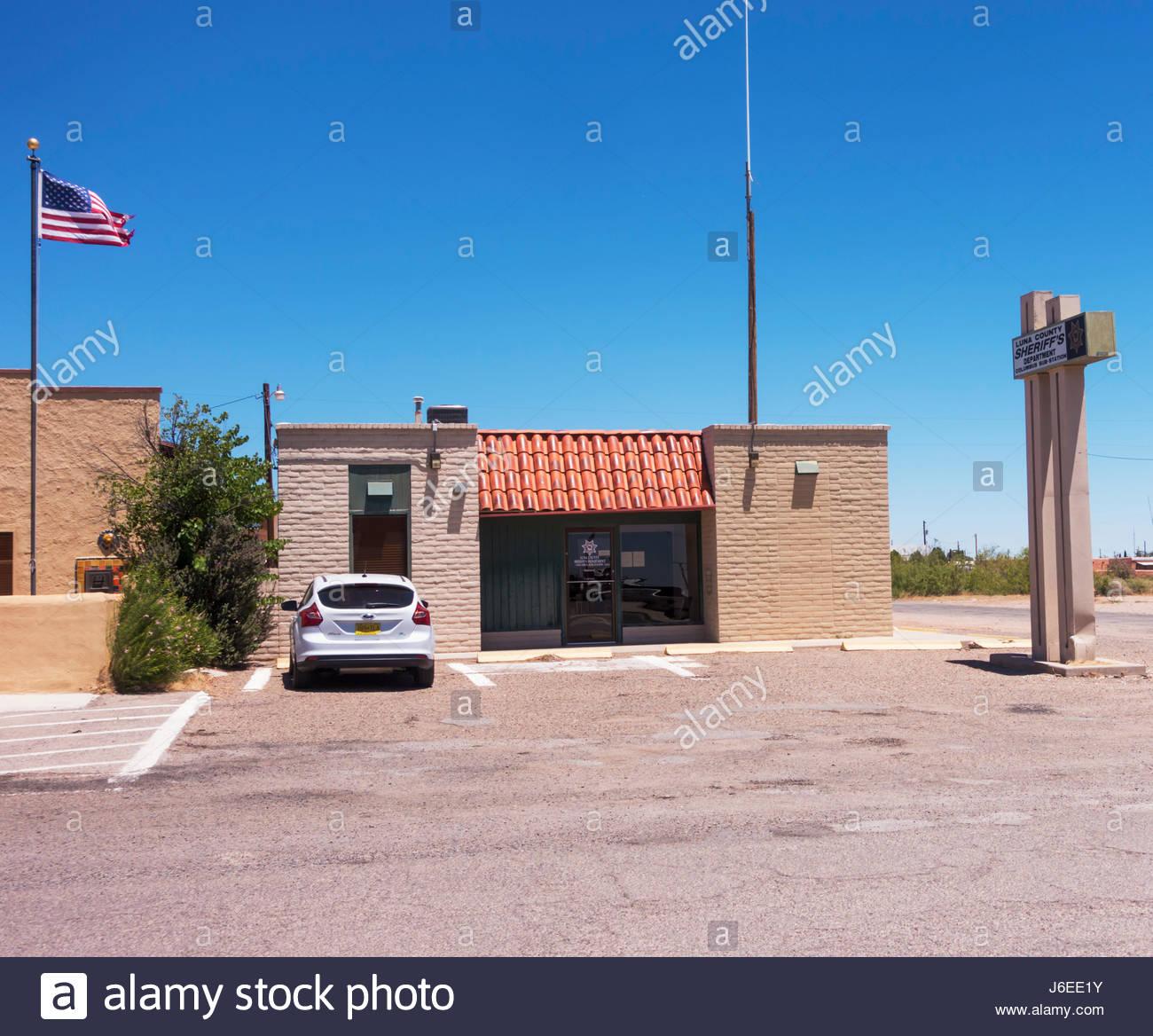 New mexico luna county columbus - Columbus New Mexico Luna County Sherrif S Department Columbus Sub Station Stock