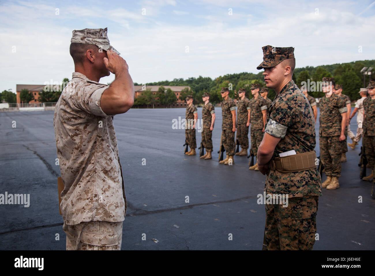 marine officer candidate school