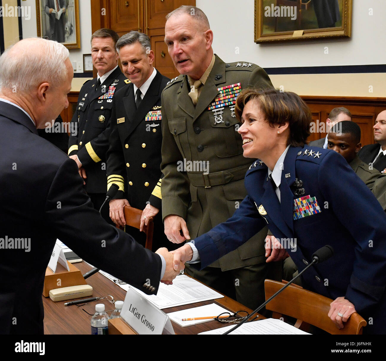 Lt. Gen. Gina Grosso, Air Force Deputy Chief of Staff for ...