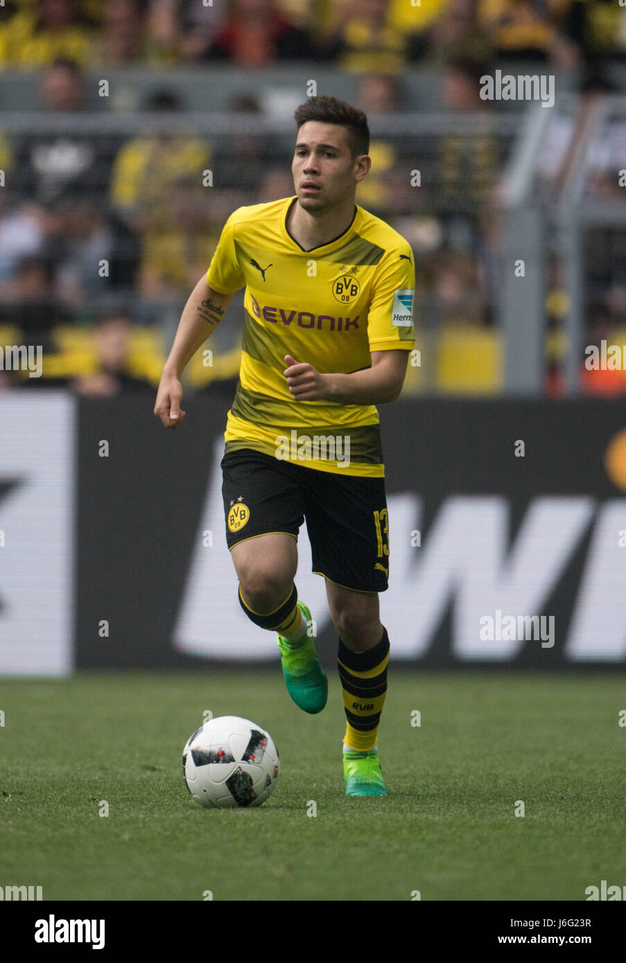 Dortmunds Raphael Guerreiro During Bundesliga Stock s