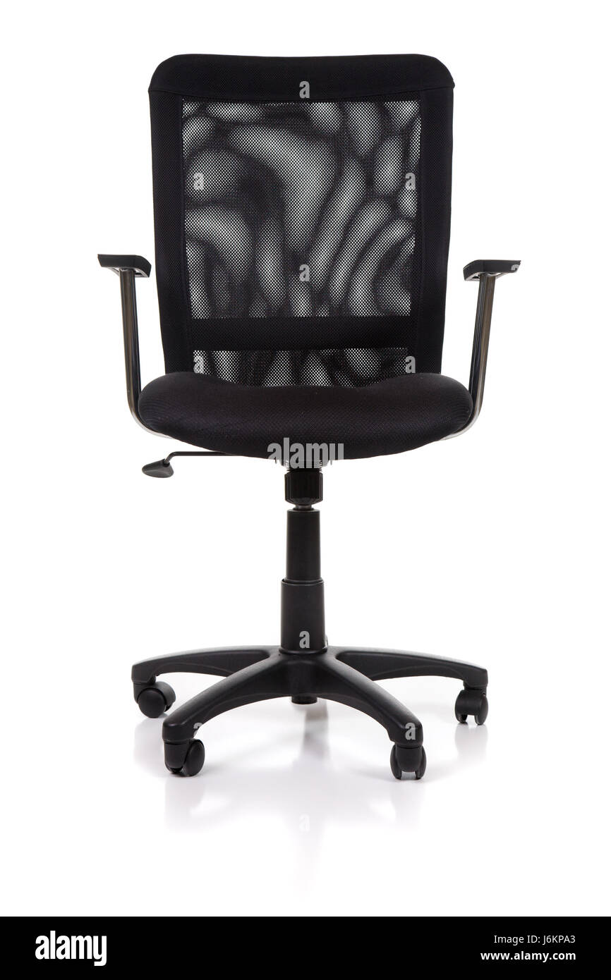 Isolated Furniture Modern Modernity Mesh Chair White Office Isolated  Furniture   Stock Image