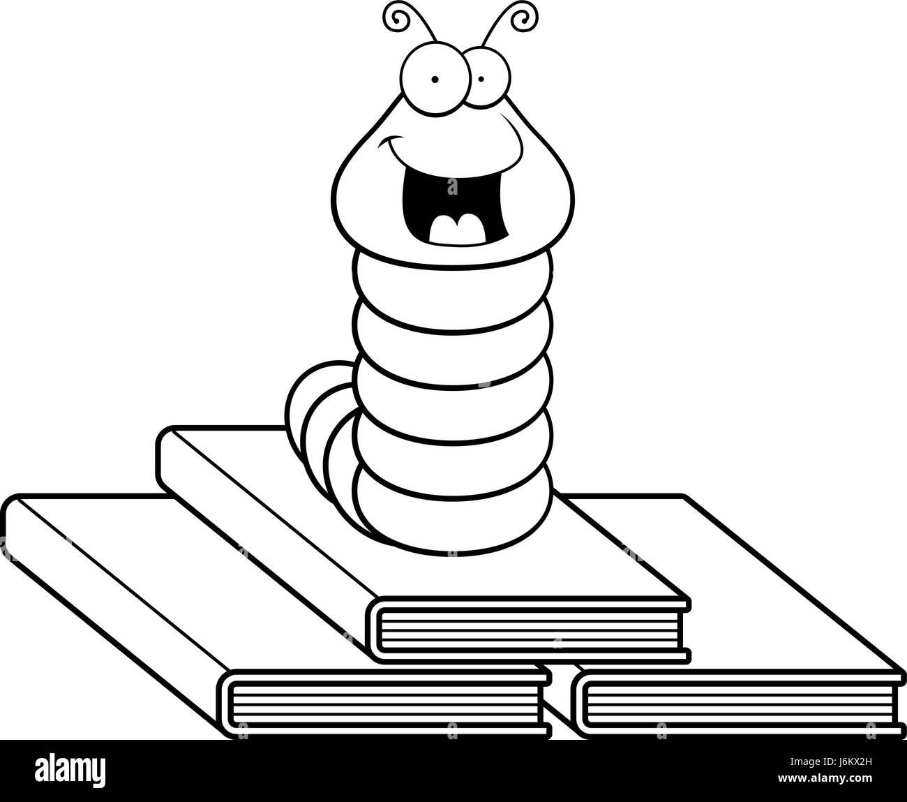 book worm cartoon stock photos u0026 book worm cartoon stock images