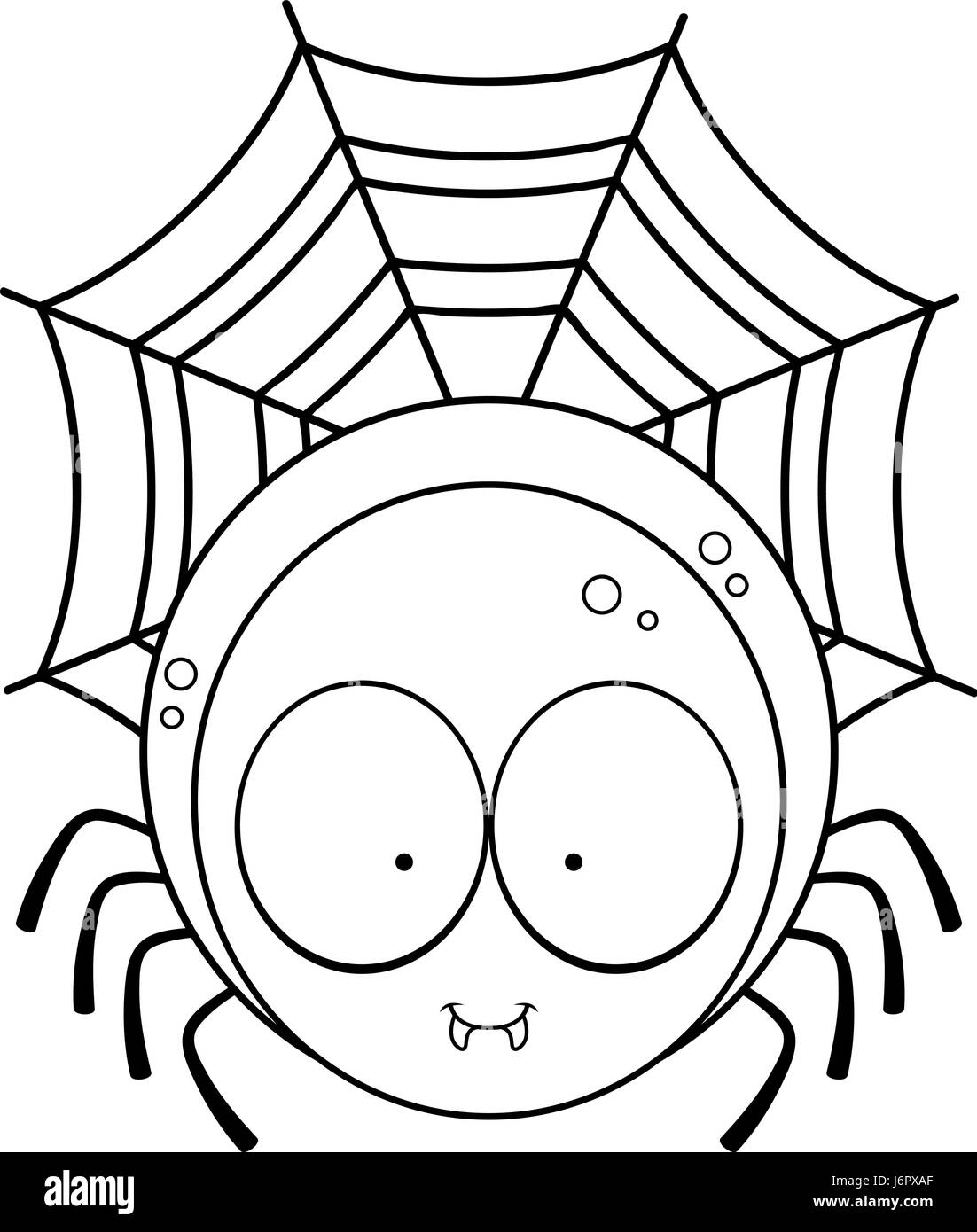 cartoon spider cut out stock images u0026 pictures alamy