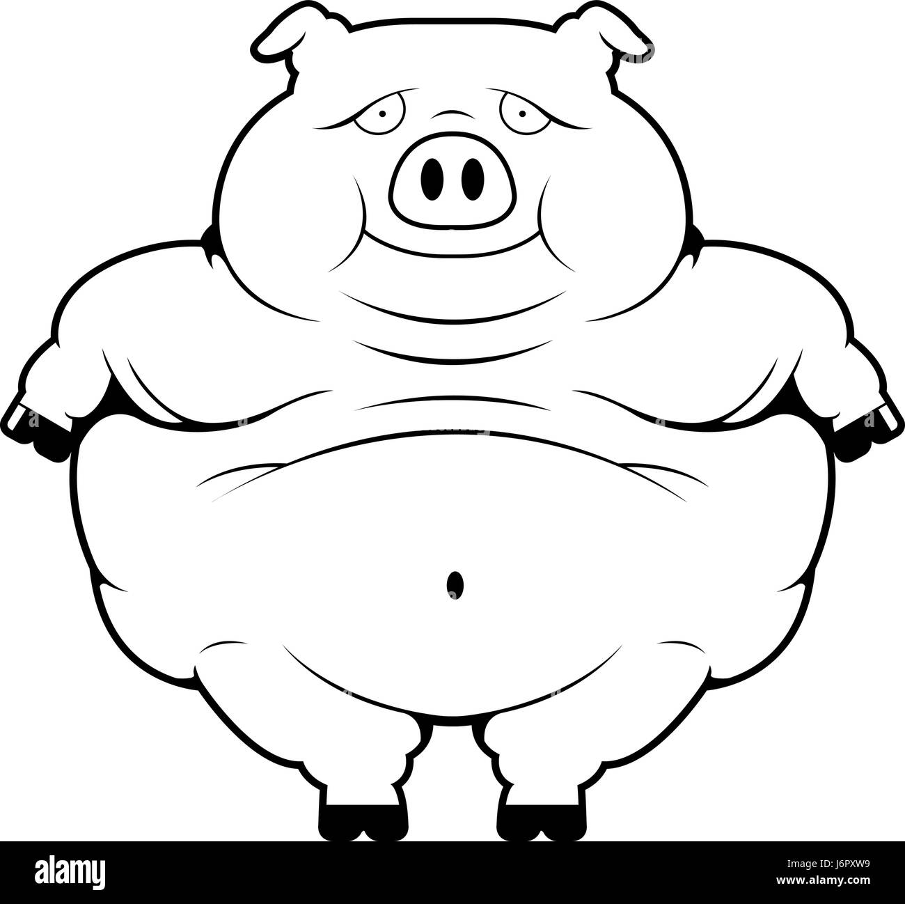 gluttony cartoon stock photos u0026 gluttony cartoon stock images alamy