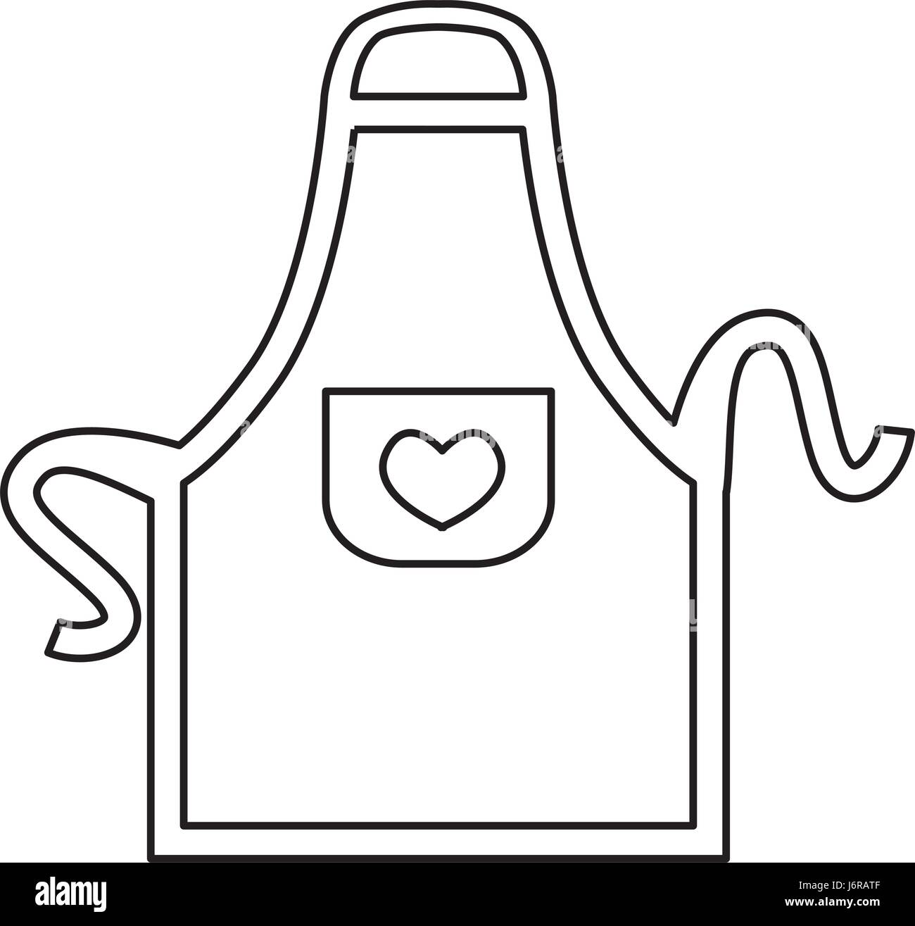 White Apron Clipart | www.pixshark.com - Images Galleries ...