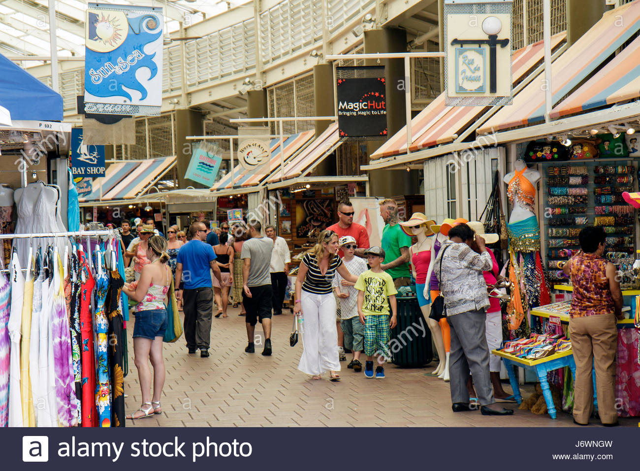 Miami Florida Bayside Marketplace Market Place business for